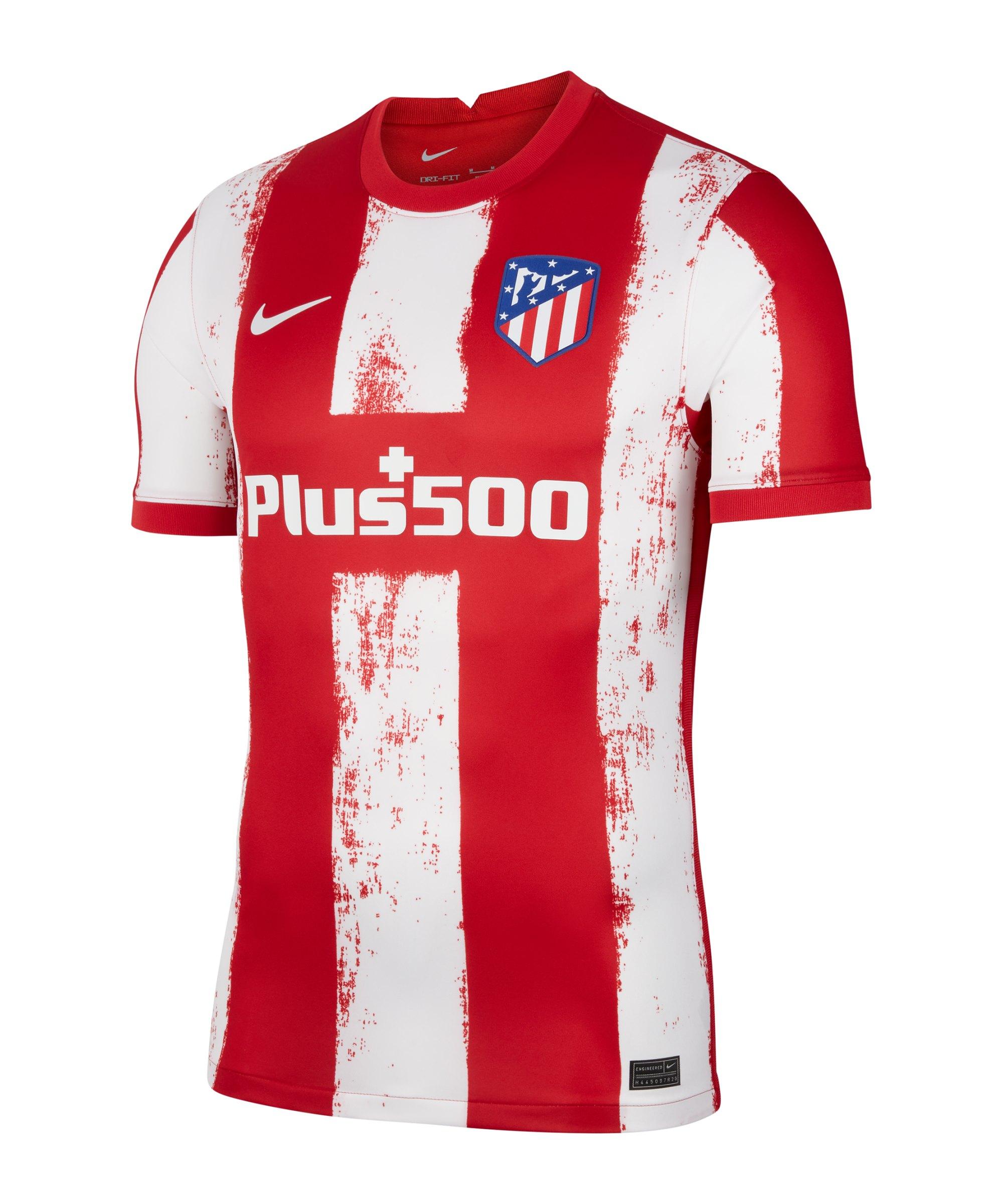 Nike Atletico Madrid Trikot Home 2021/2022 Rot F61 - rot