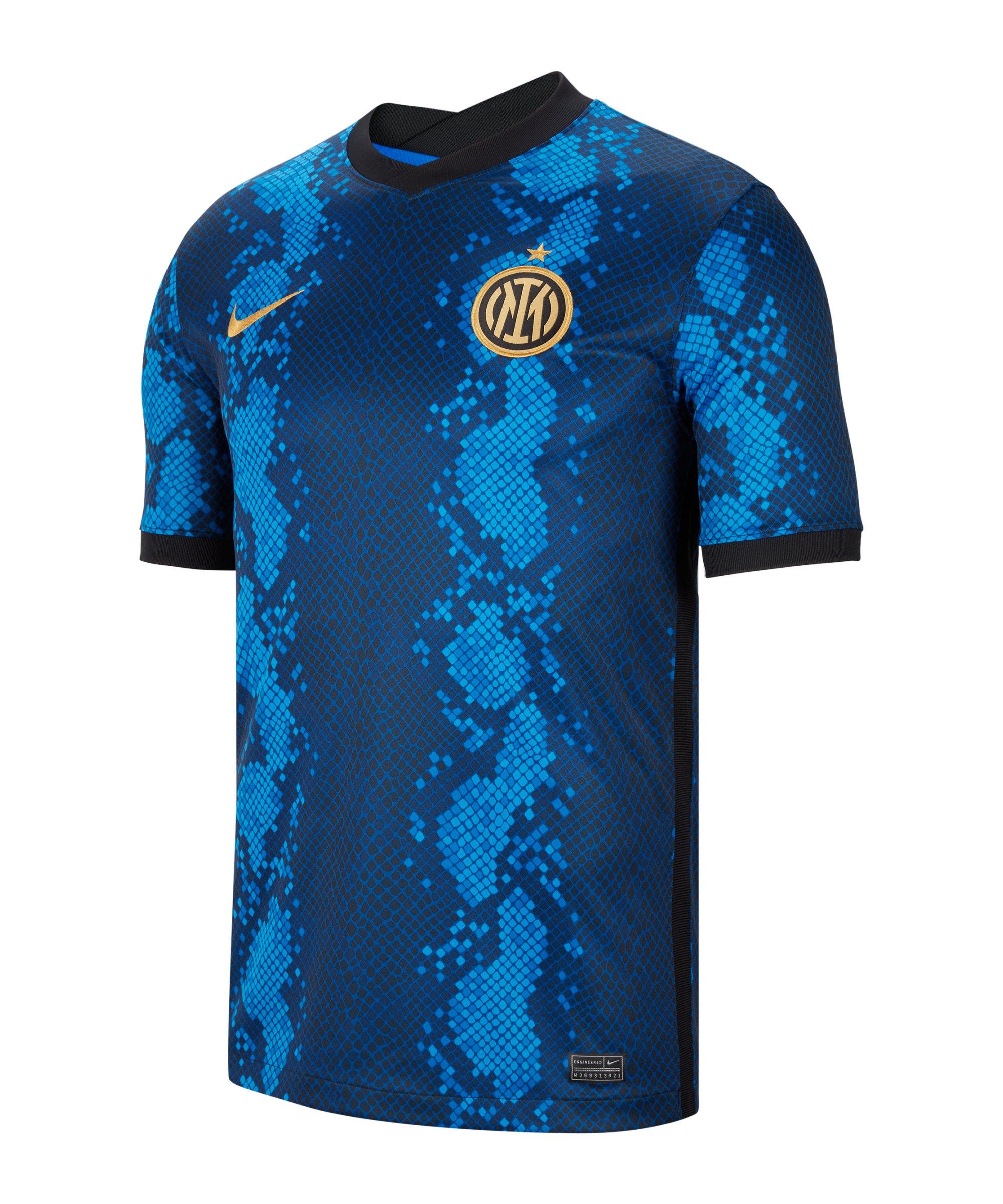 Nike Inter Mailand Trikot Home 2021/2022 Blau F414 - blau