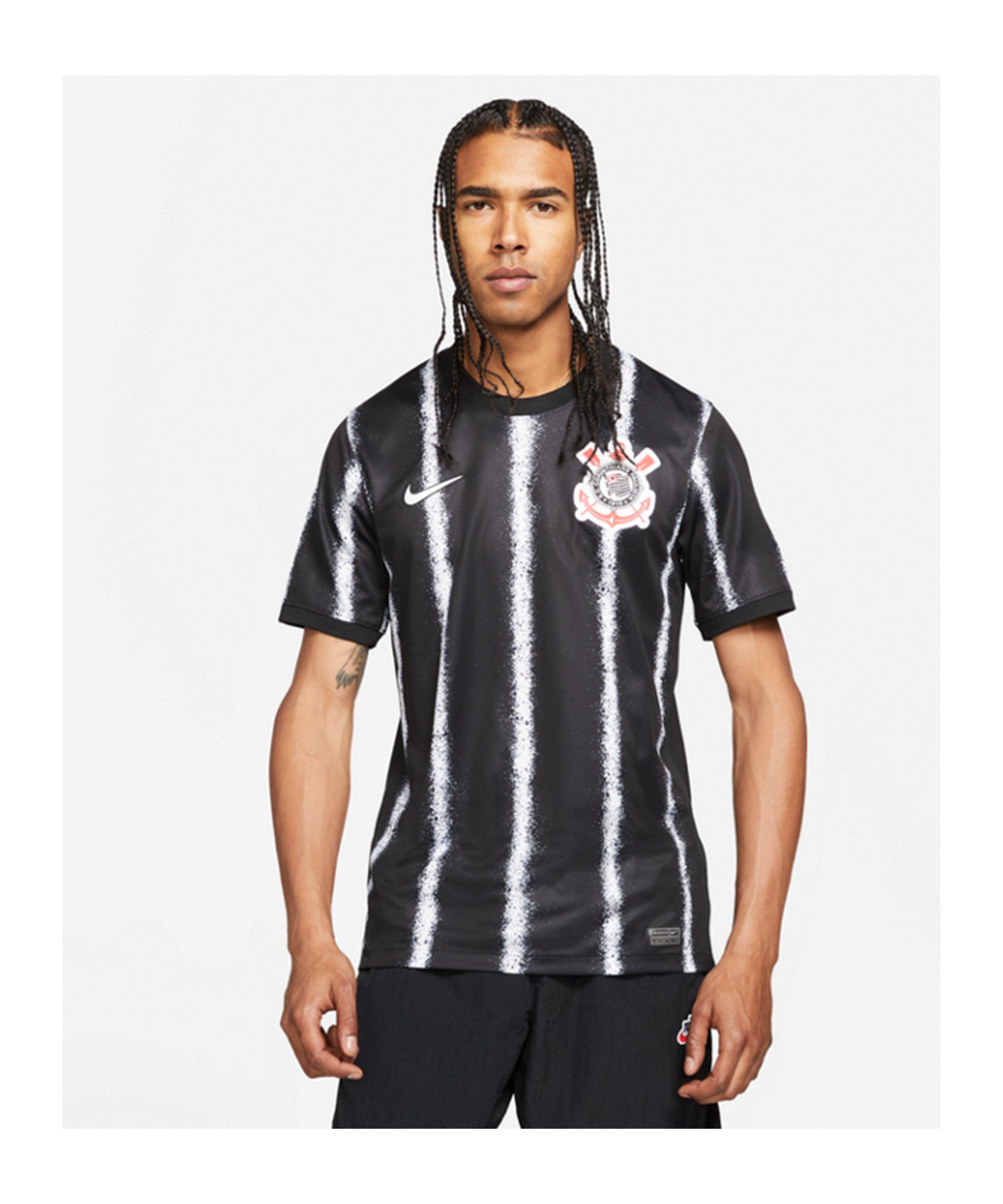 Nike SC Corinthians Trikot Away 2021/2022 F010 - schwarz