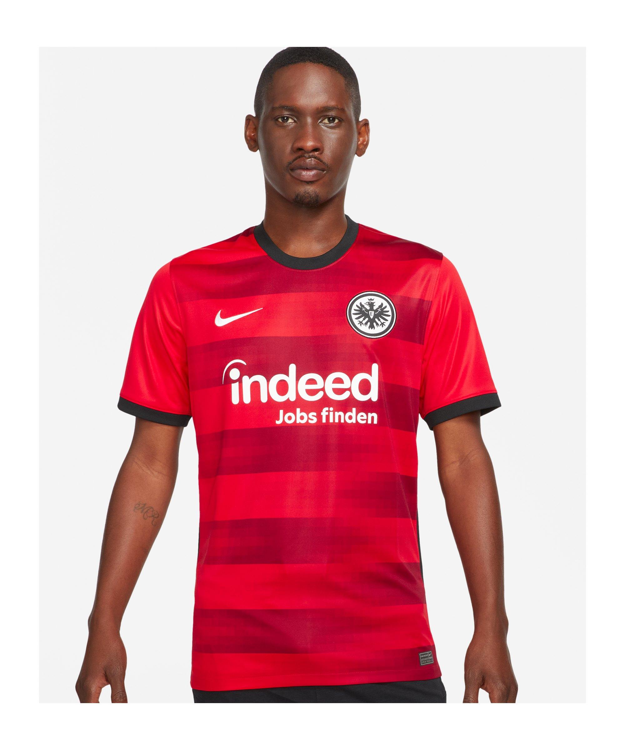 Nike Eintracht Frankfurt Trikot Away 2021/2022 Rot F658 - rot