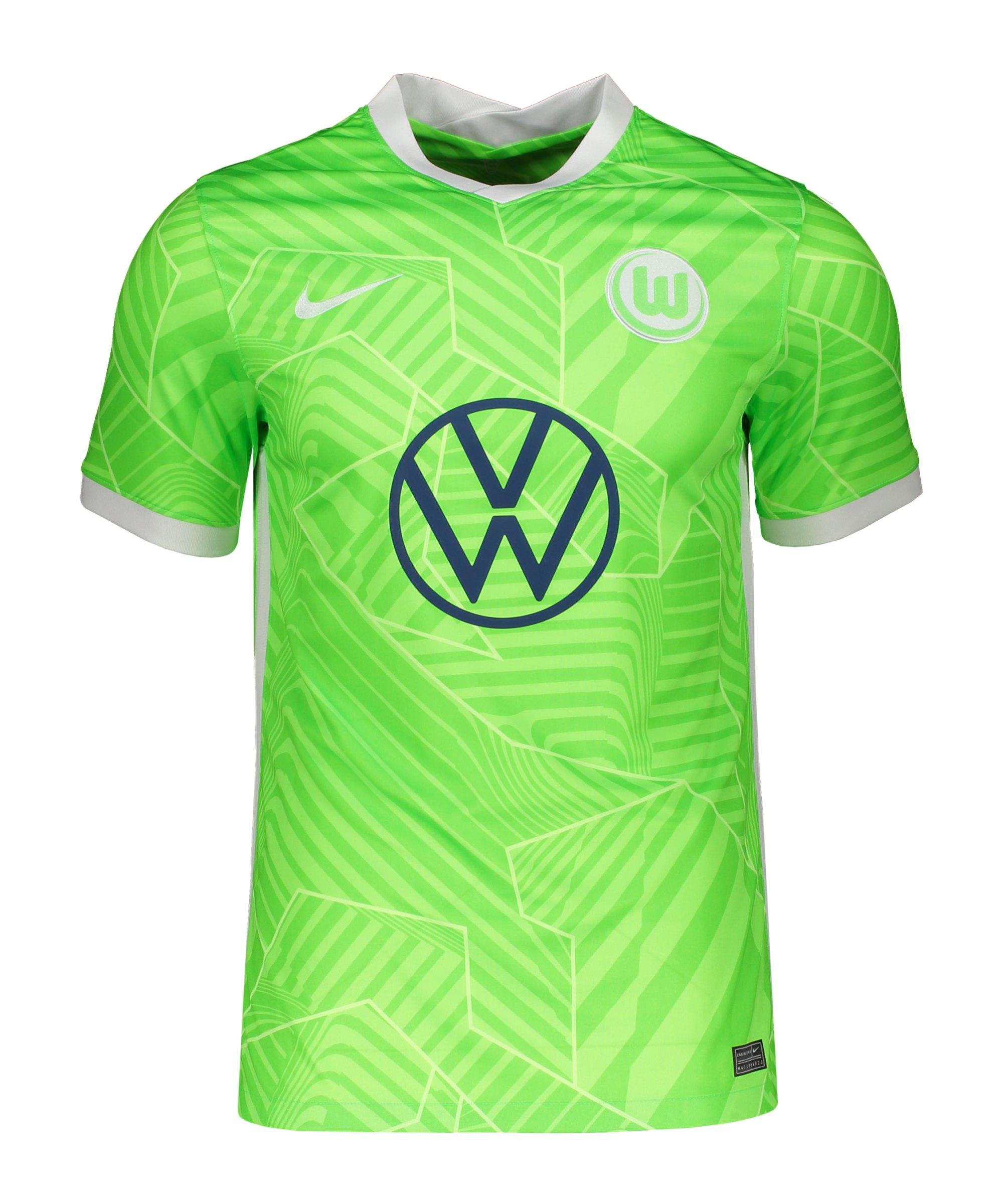Nike VfL Wolfsburg Trikot Home 2021/2022 F359 - gruen