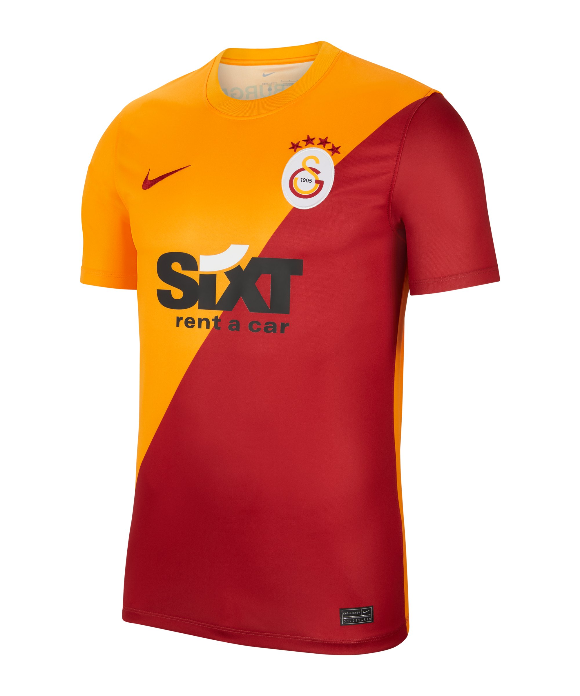 Nike Galatasaray Istanbul Trikot Home 2021/2022 F837 - orange