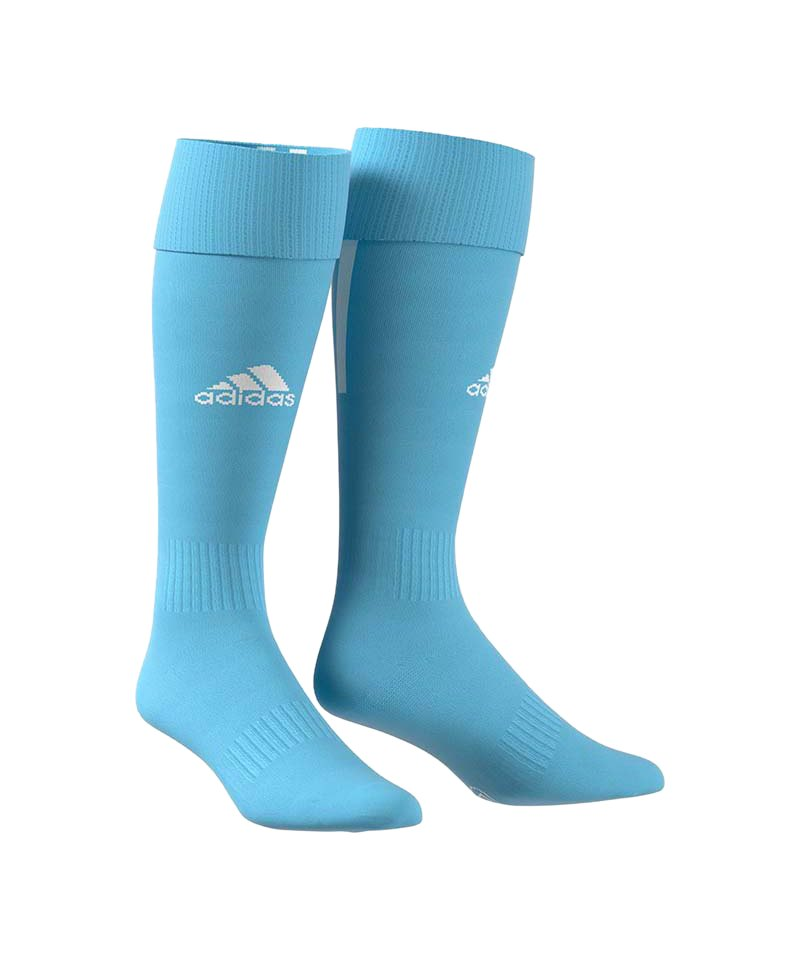 adidas Santos 18 Stutzenstrumpf Hellblau - blau