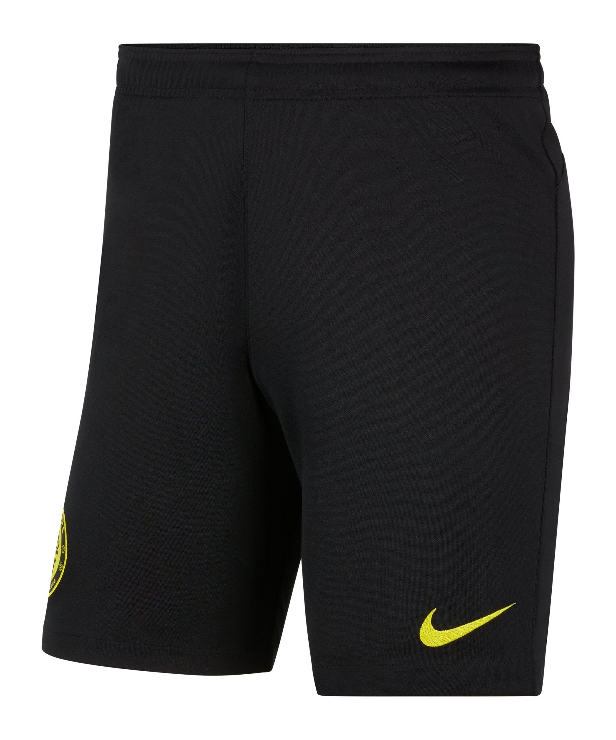 Nike FC Chelsea London Short Away 2021/2022 Schwarz F010 - schwarz