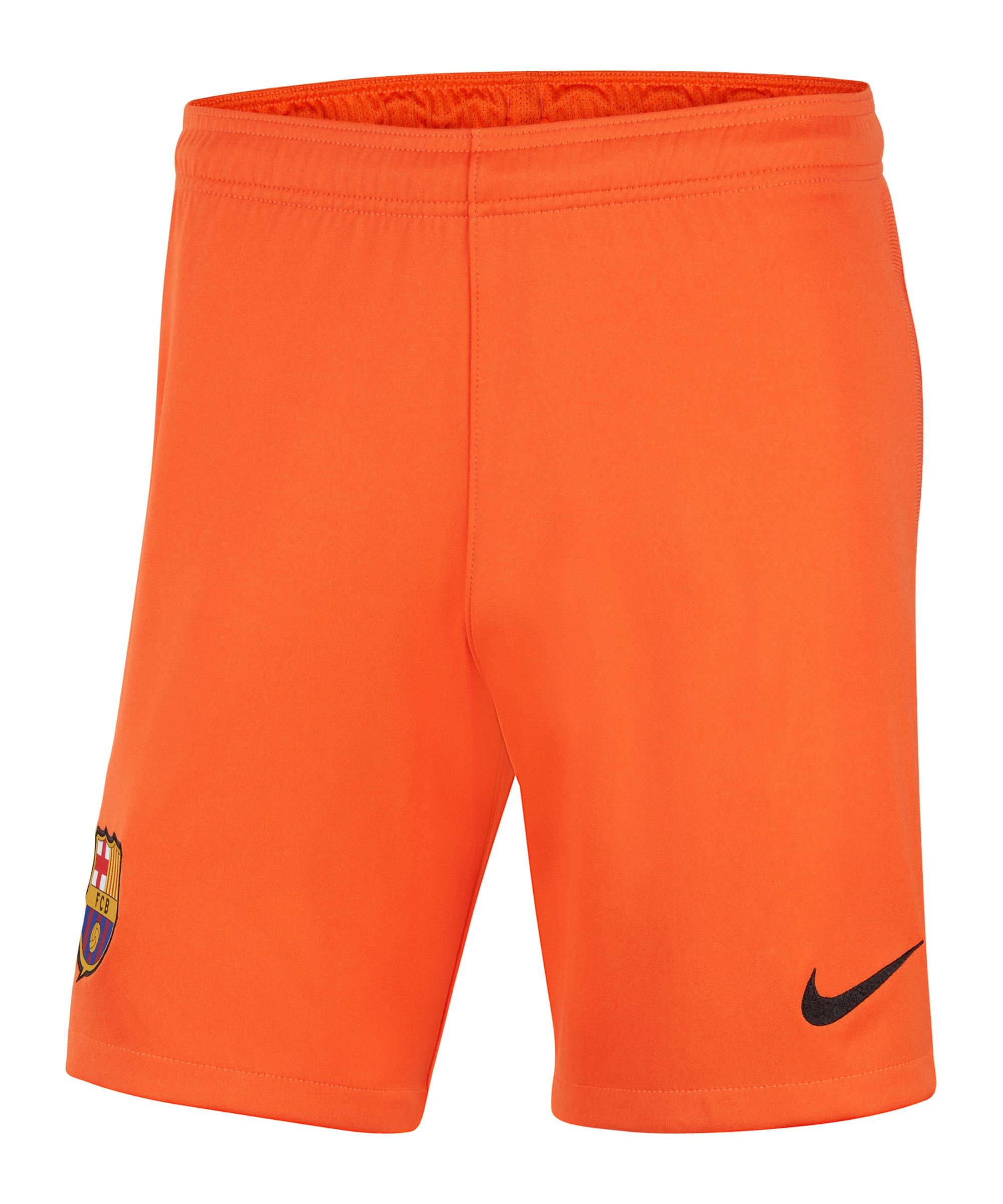 Nike FC Barcelona Torwartshort 2021/2022 F837 - orange