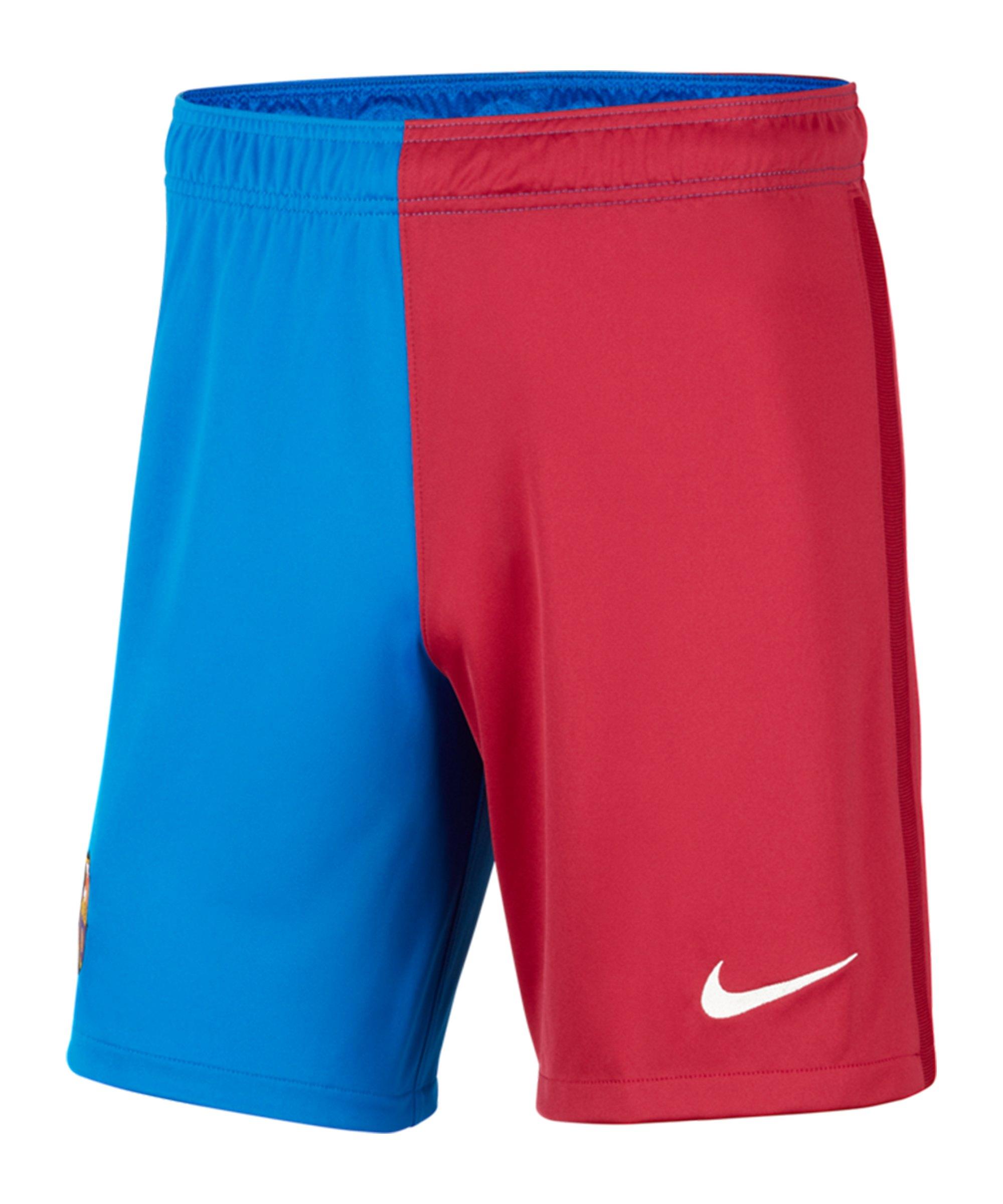 Nike FC Barcelona Short Home 2021/2022 F427 - blau