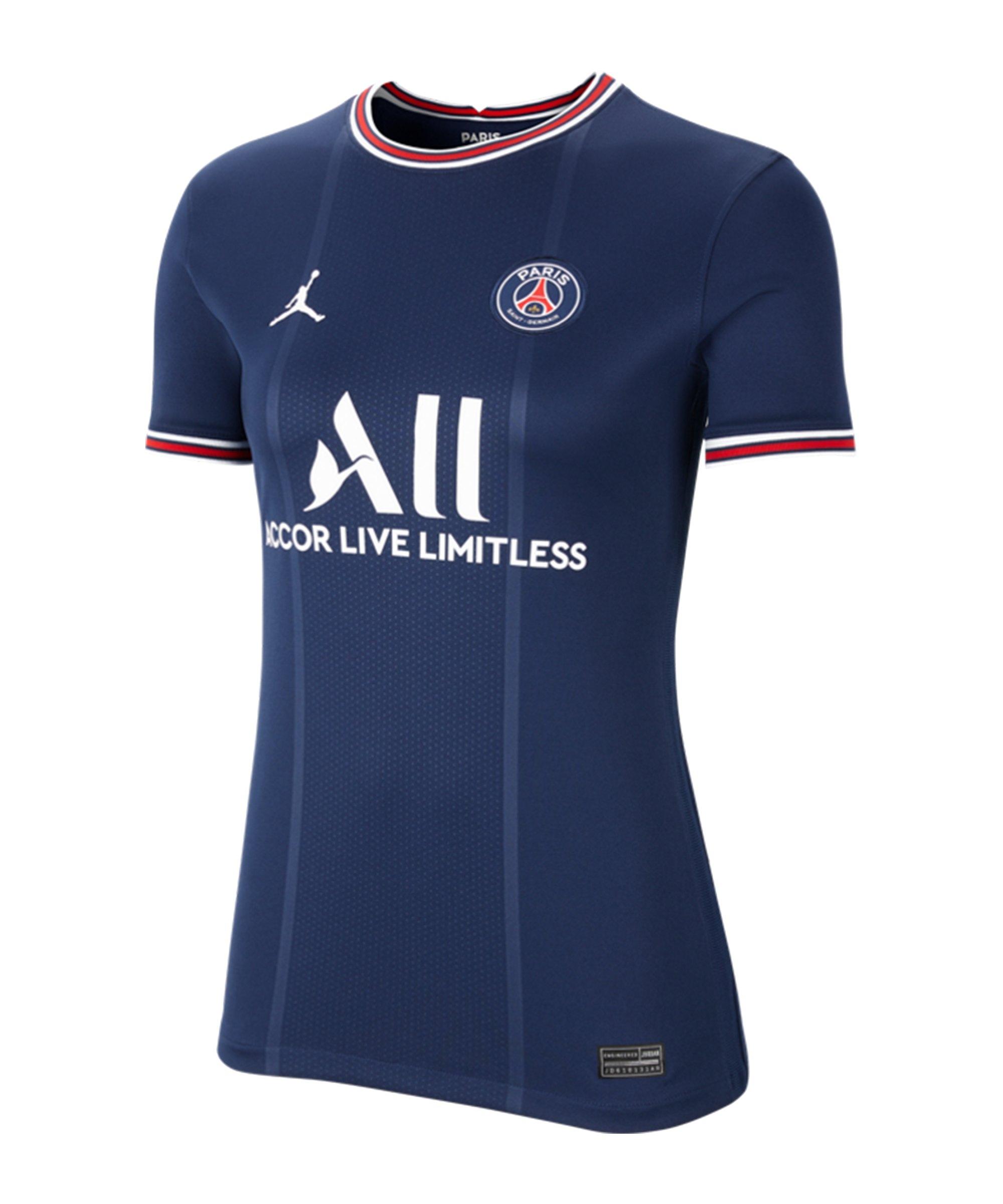 Jordan Paris St. Germain Trikot Home 2021/2022 Damen Blau F411 - blau