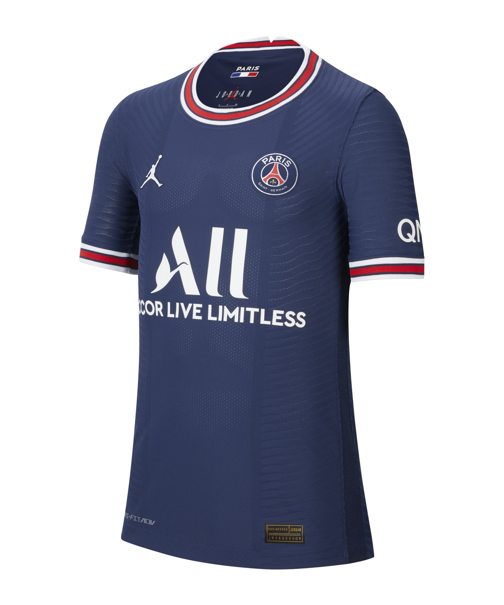 Nike Paris St. Germain Auth. Trikot Home 2021/2022 Kids F411 - blau