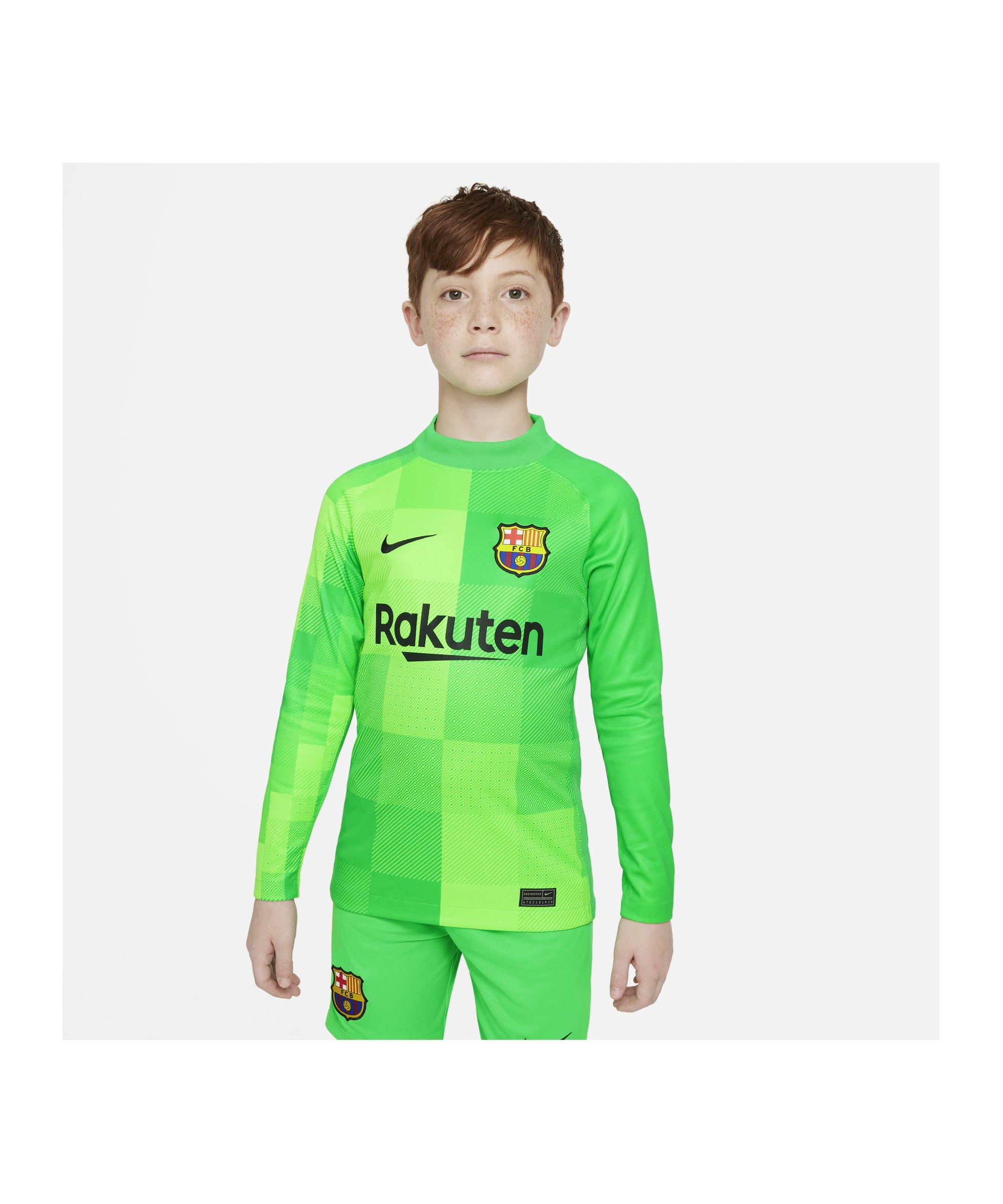 Nike FC Barcelona Torwarttrikot 21/22 Kids F330 - gruen