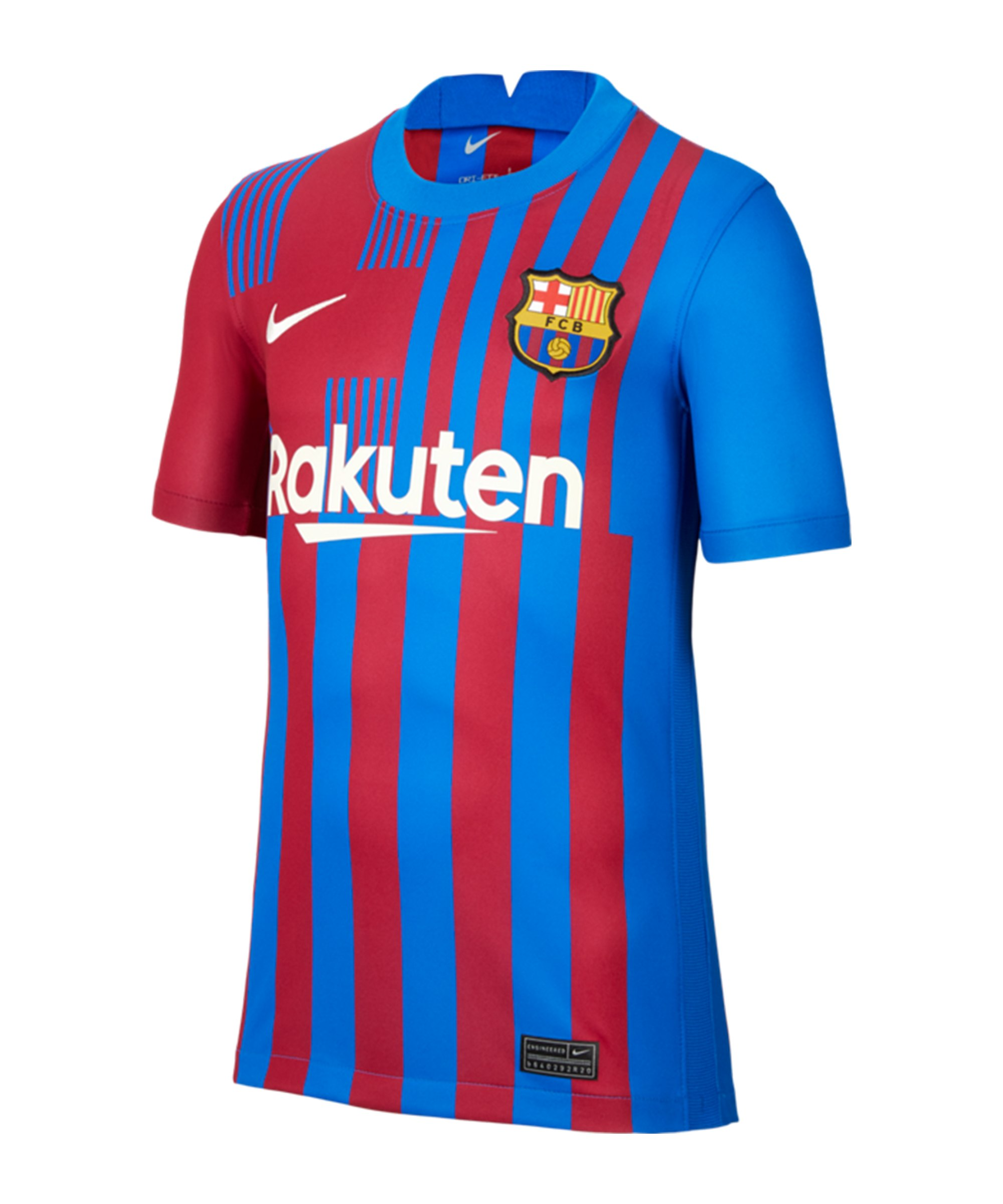 Nike FC Barcelona Trikot Home 2021/2022 Kids F428 - blau
