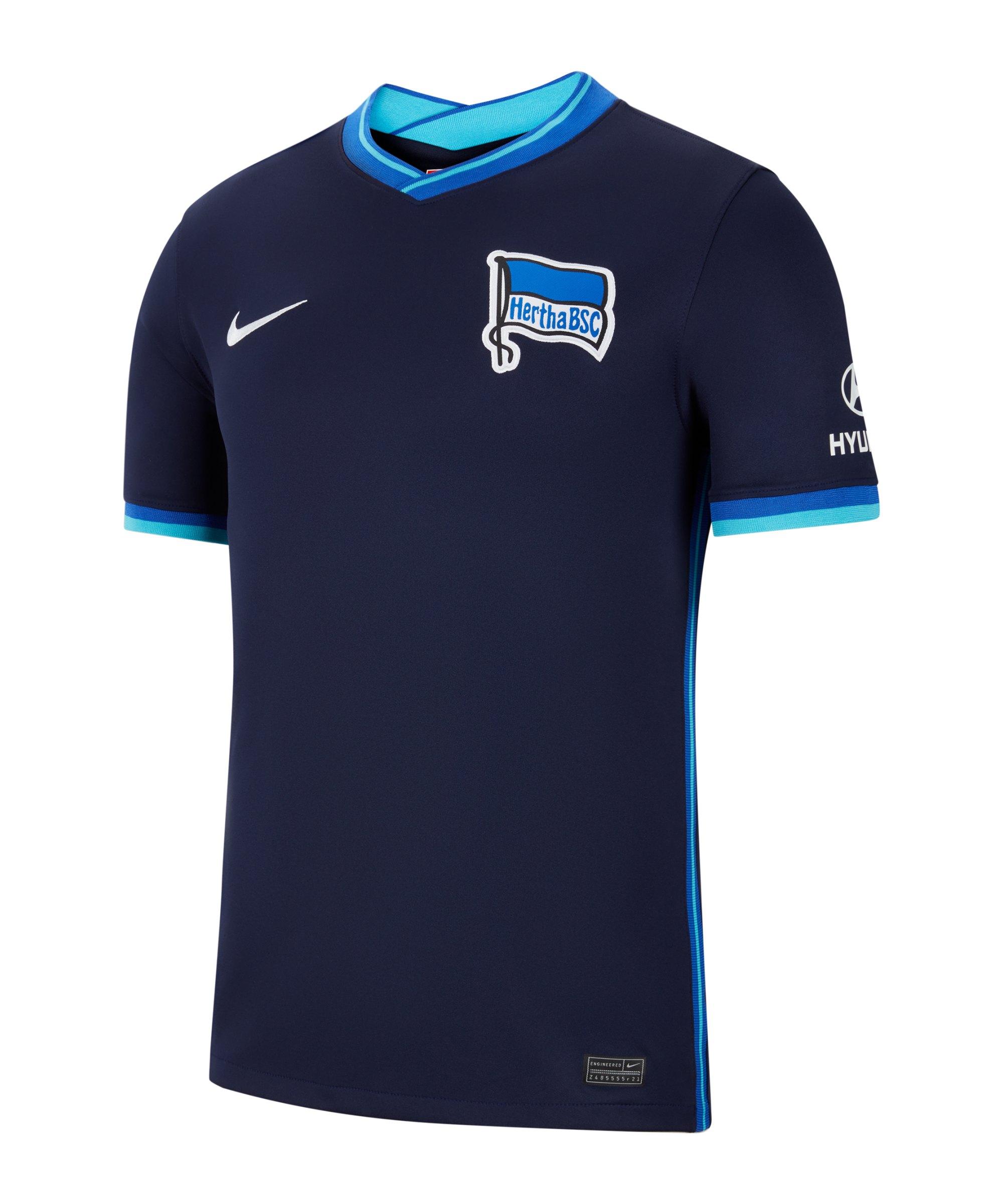 Nike Hertha BSC Trikot Away 2021/2022 Kids F499 - blau