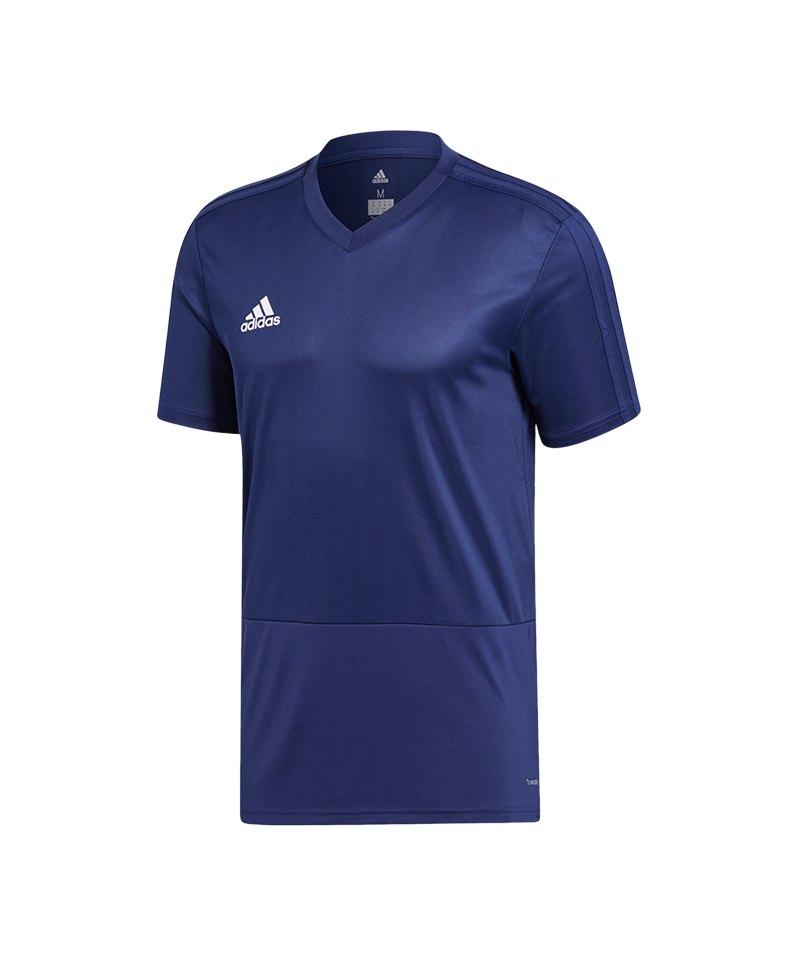 adidas Condivo 18 Training T-Shirt Dunkelblau - blau