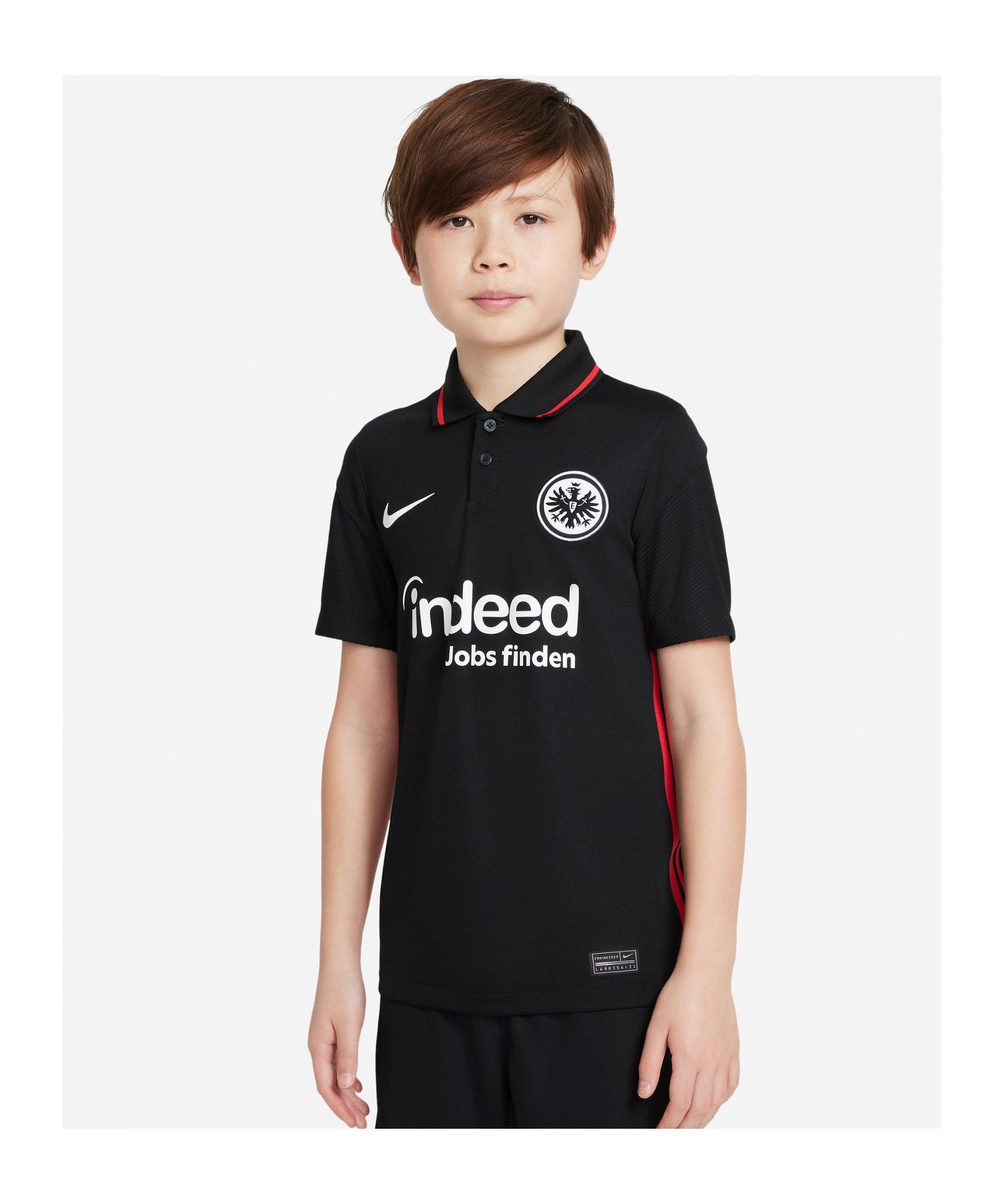 Nike Eintracht Frankfurt Trikot Home 2021/2022 Kids F011 - schwarz