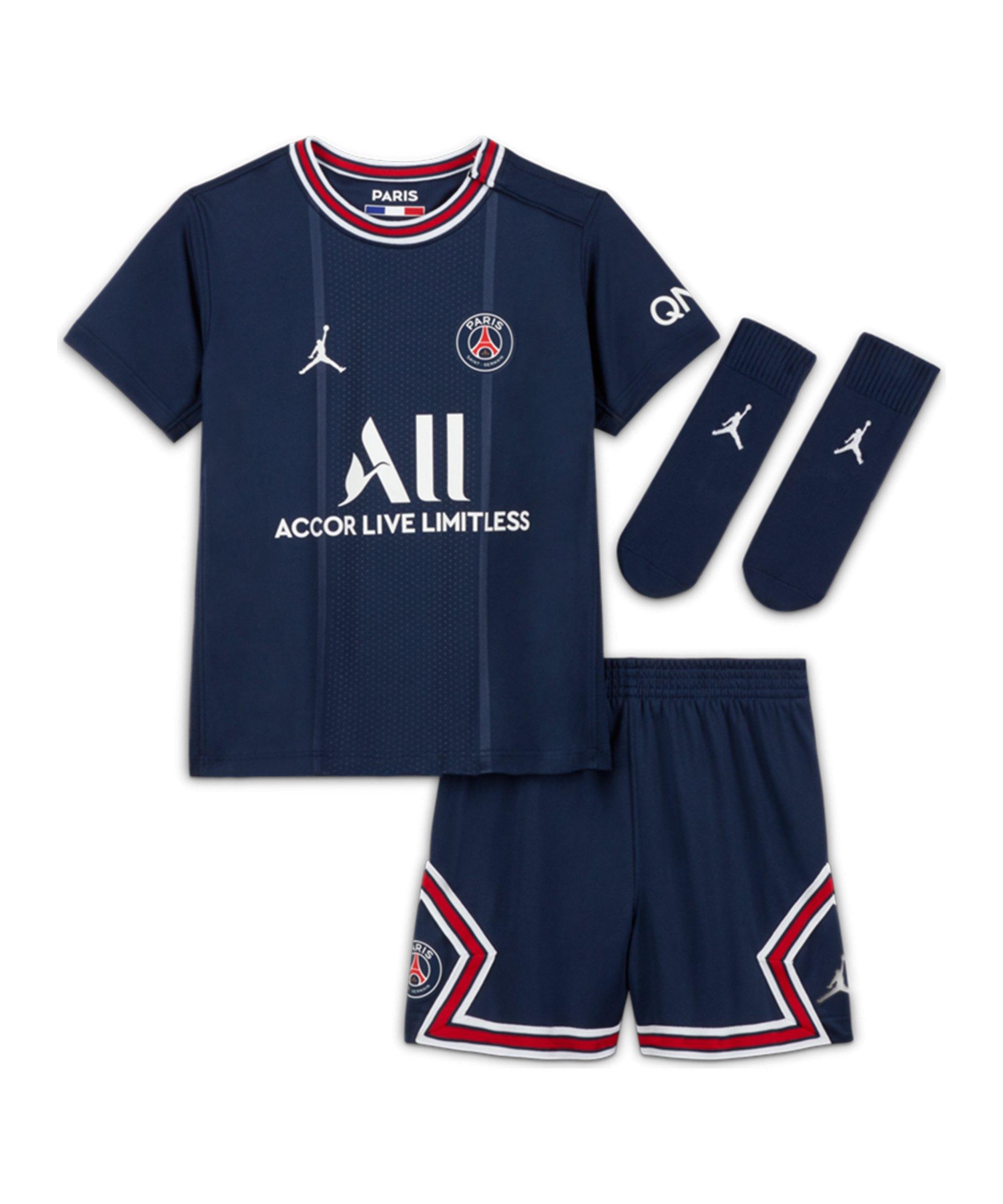 Jordan Paris St. Germain Babykit Home 2021/2022 F411 - blau