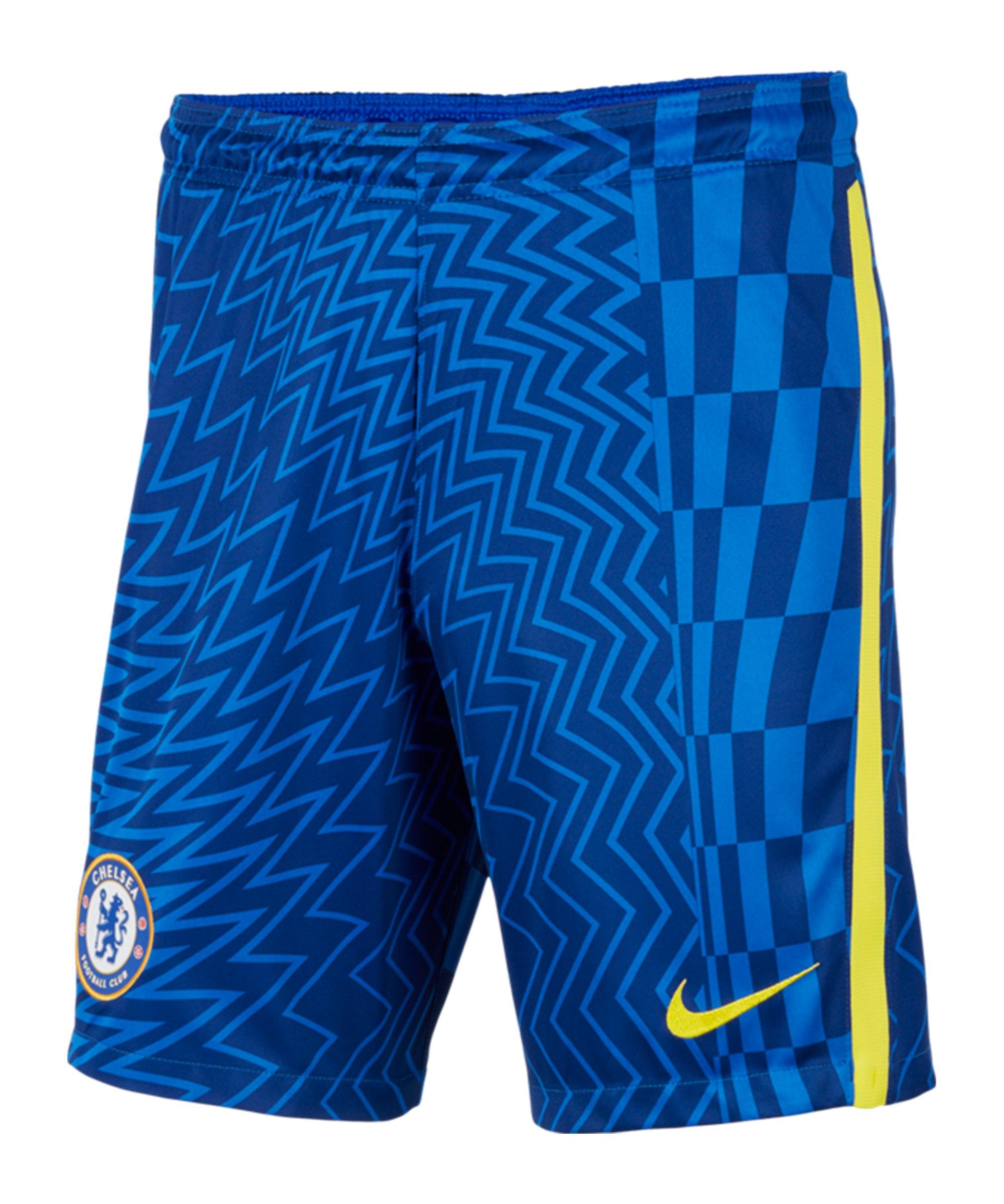 Nike FC Chelsea London Short Home 2021/2022 Kids F408 - blau