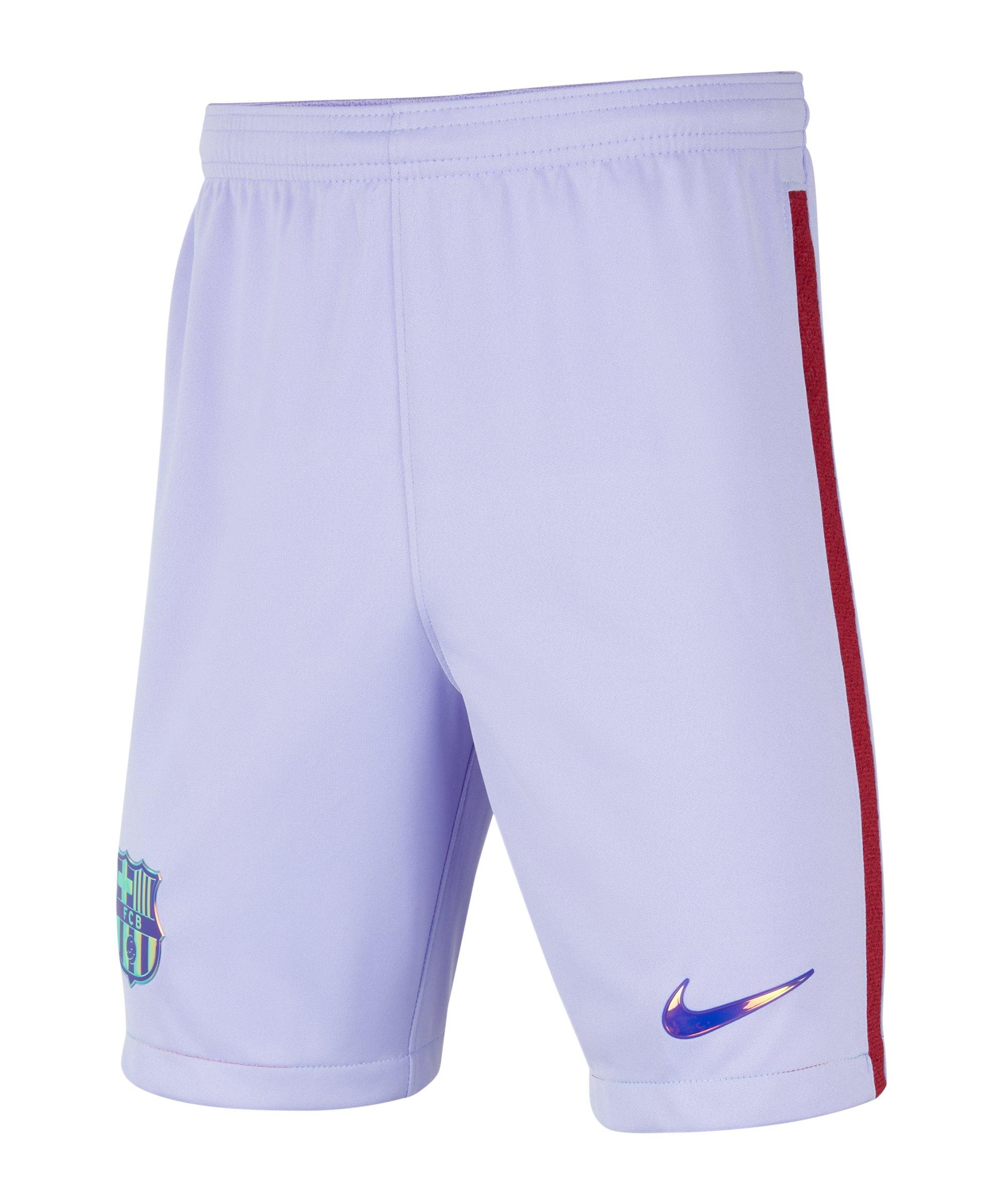 Nike FC Barcelona Short Away 2021/2022 Kids F580 - lila