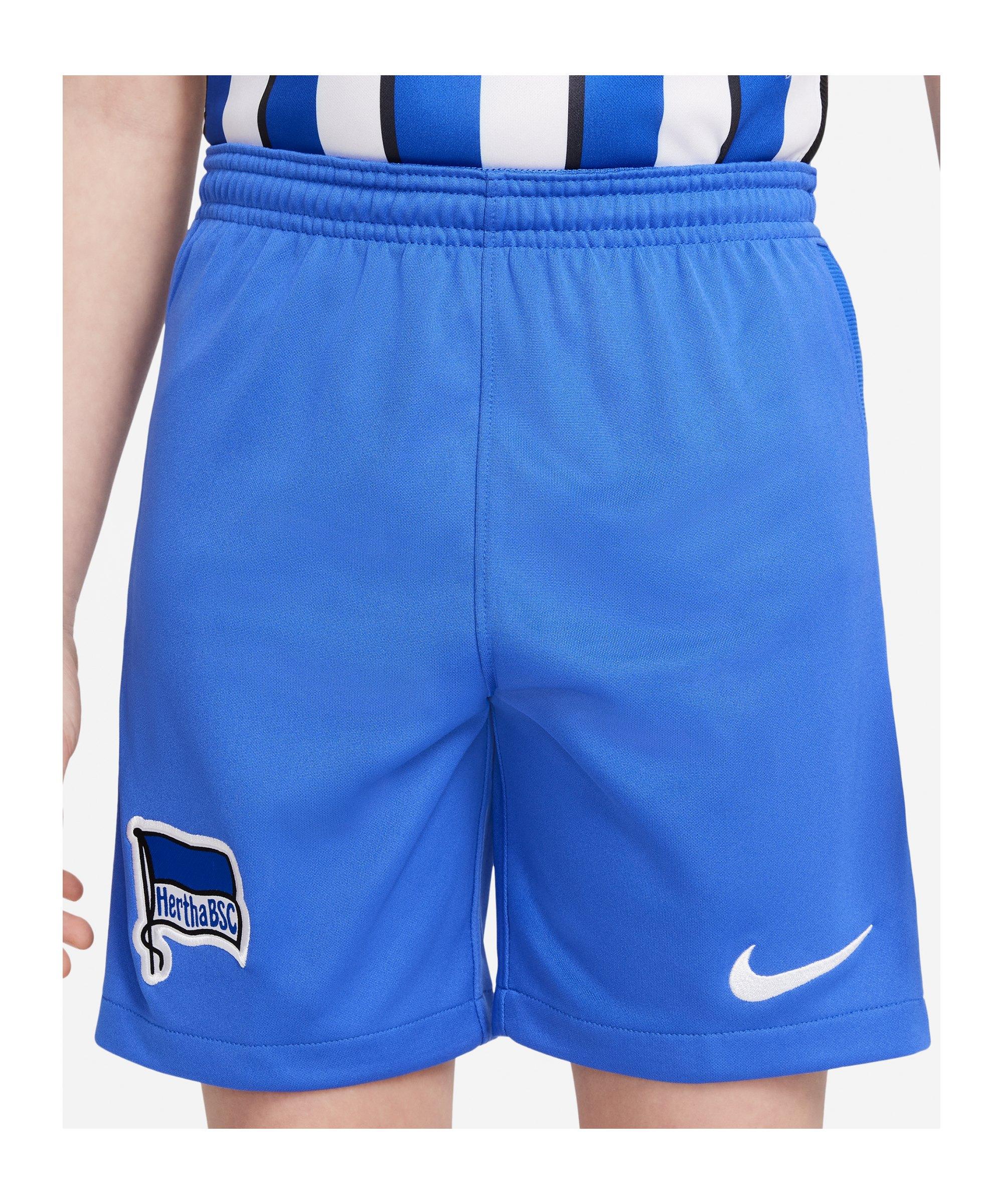 Nike Hertha BSC Short Home Away 21/22 Kids F405 - blau