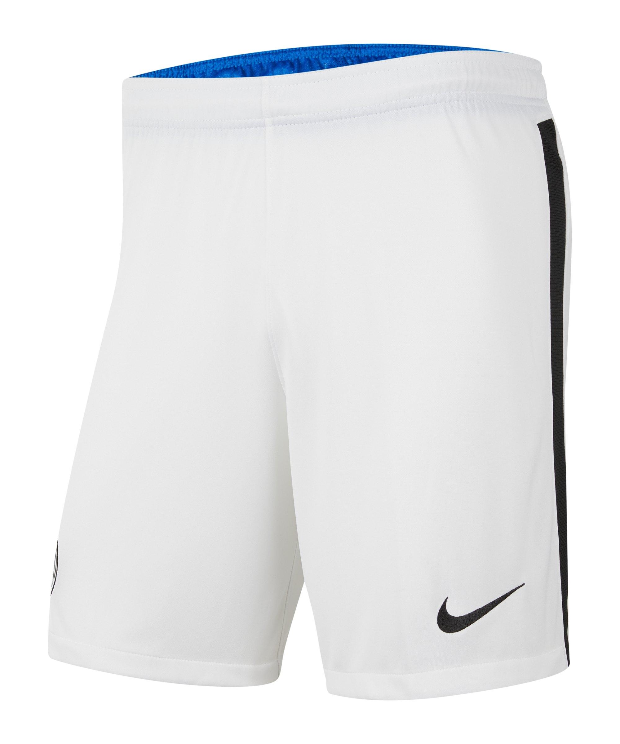 Nike Inter Mailand Short Home/Away 2021/2022 Kids F100 - weiss