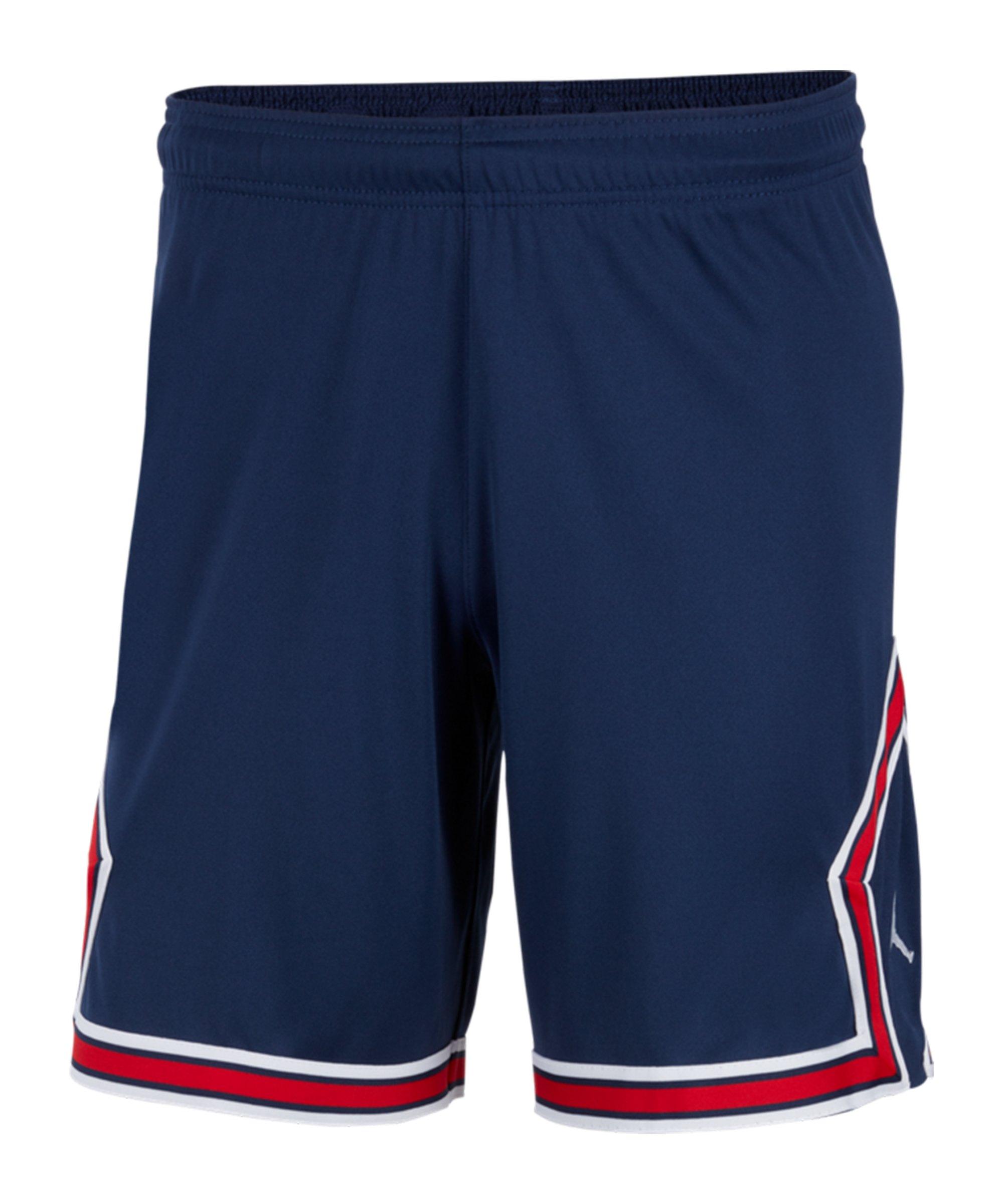 Nike Paris St. Germain Short Home 2021/2022 Kids Blau F410 - blau
