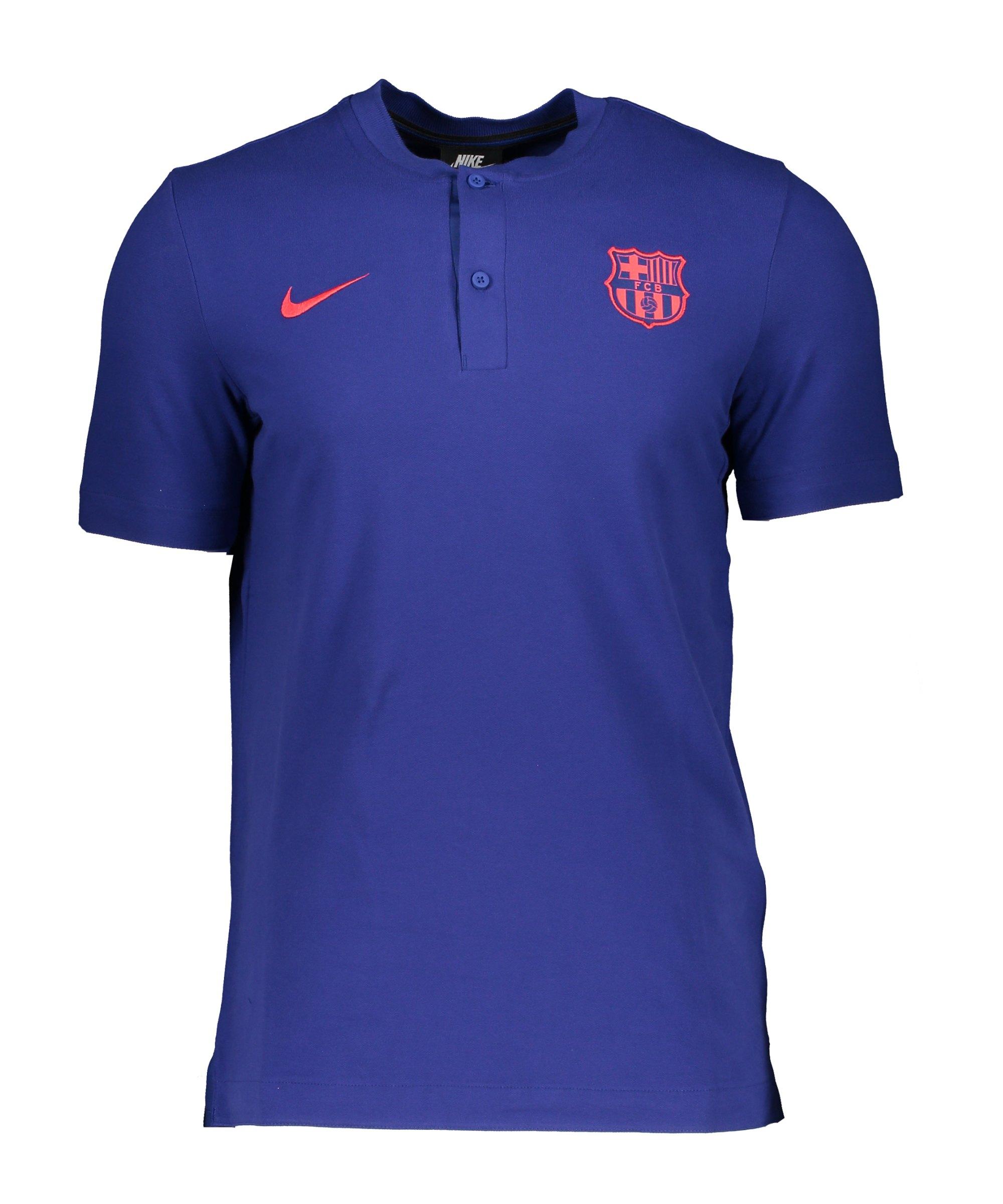 Nike FC Barcelona T-Shirt Blau F455 - blau