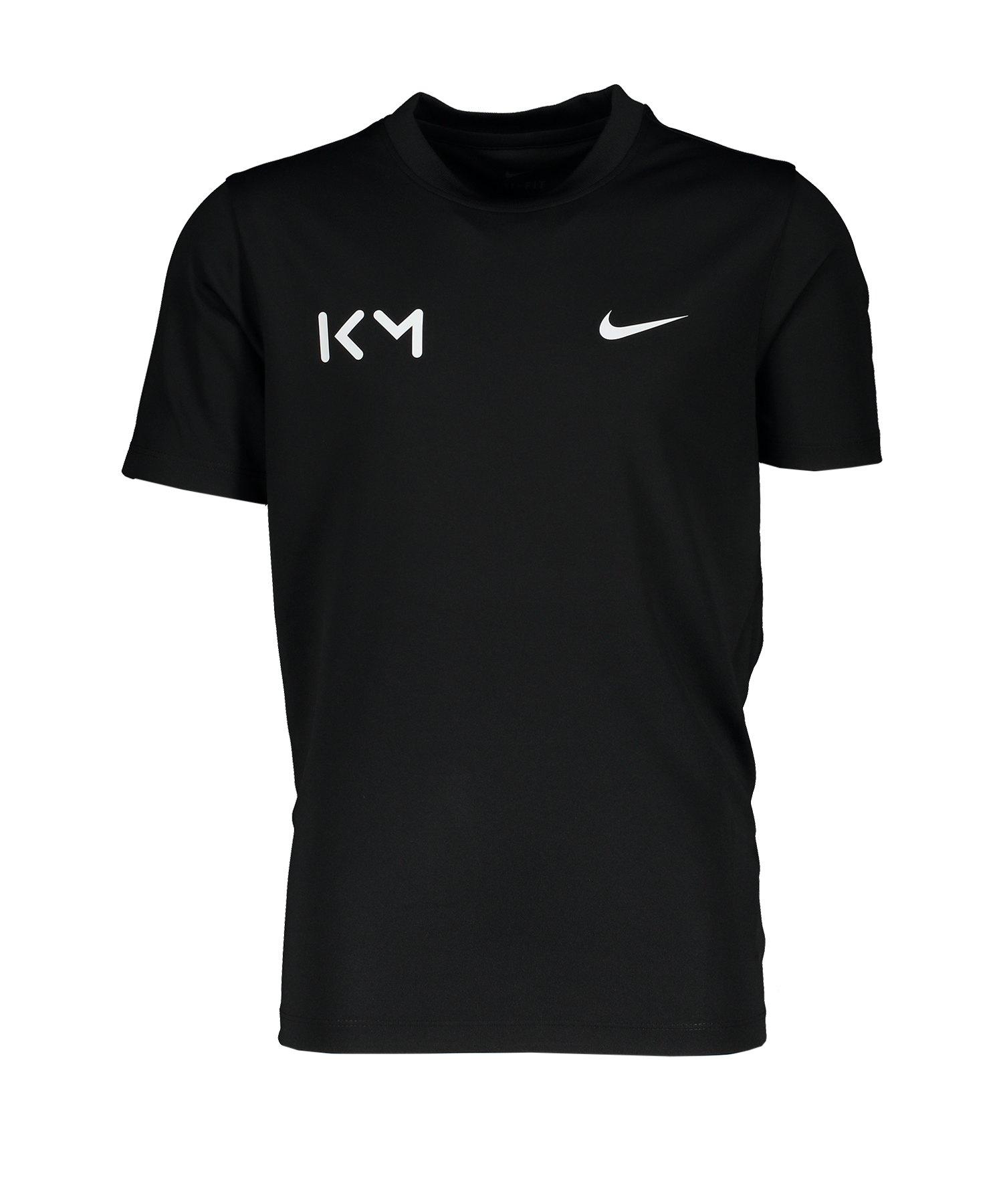 Nike Trainingsshirt kurzarm Kids Schwarz F010 - schwarz