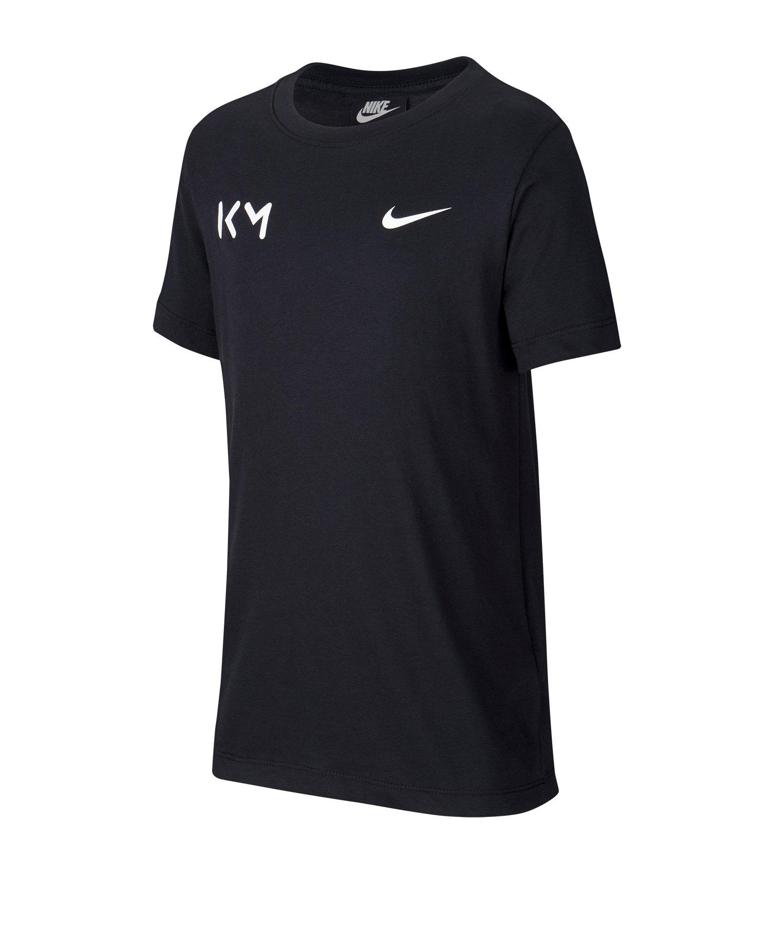 Nike Tee Shirt kurzarm Kids Schwarz F010 - schwarz