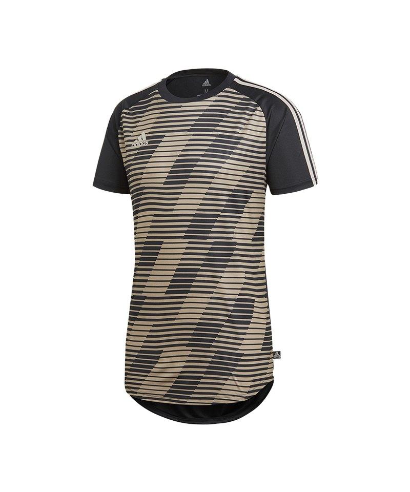 adidas Tango Graphic Jersey Trikot Schwarz Gold - schwarz