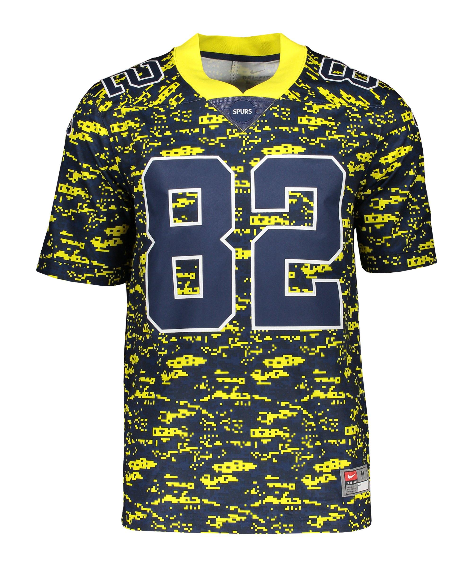 Nike Tottenham Hotspur NFL Trikot Blau Gelb F731 - gelb