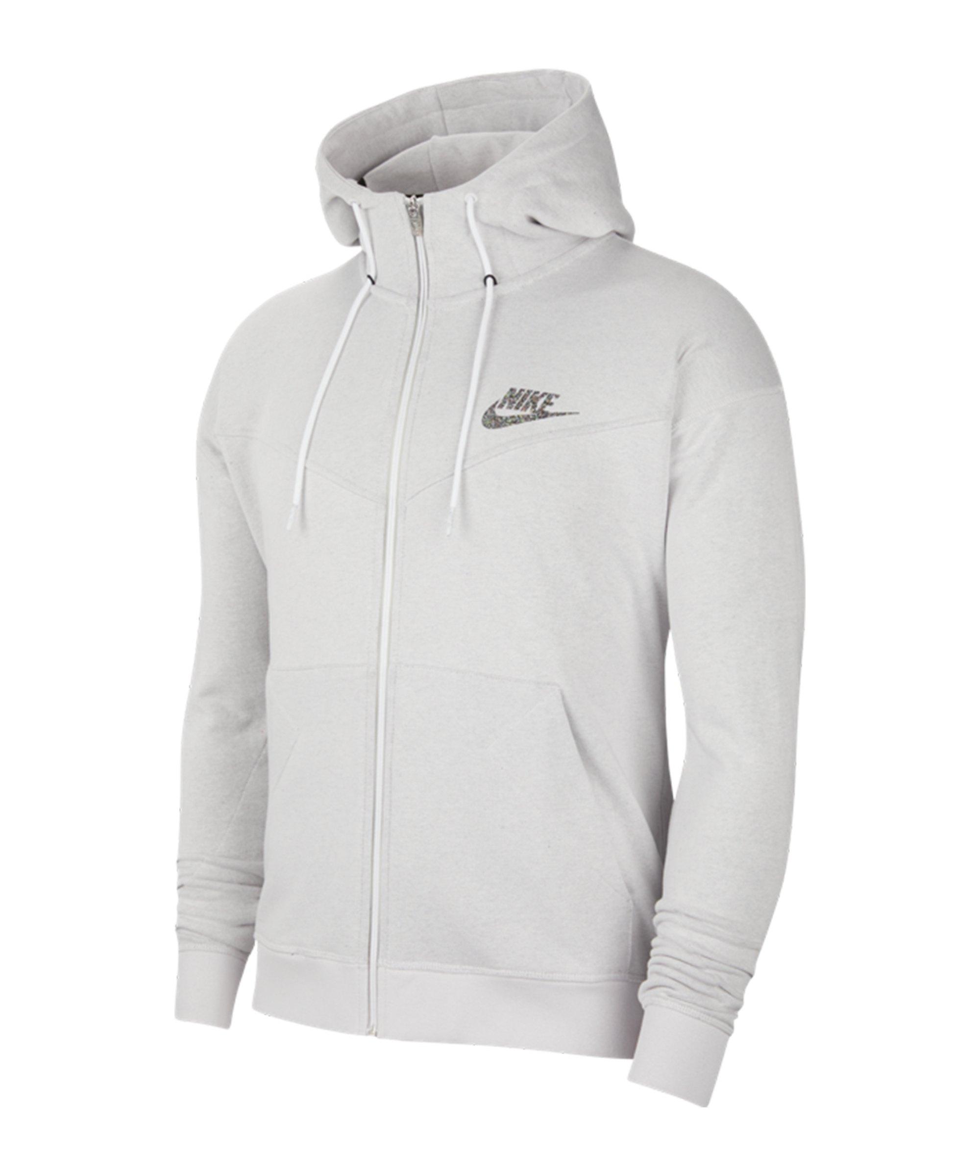 Nike Essentials Kapuzenjacke Grau F910 - grau