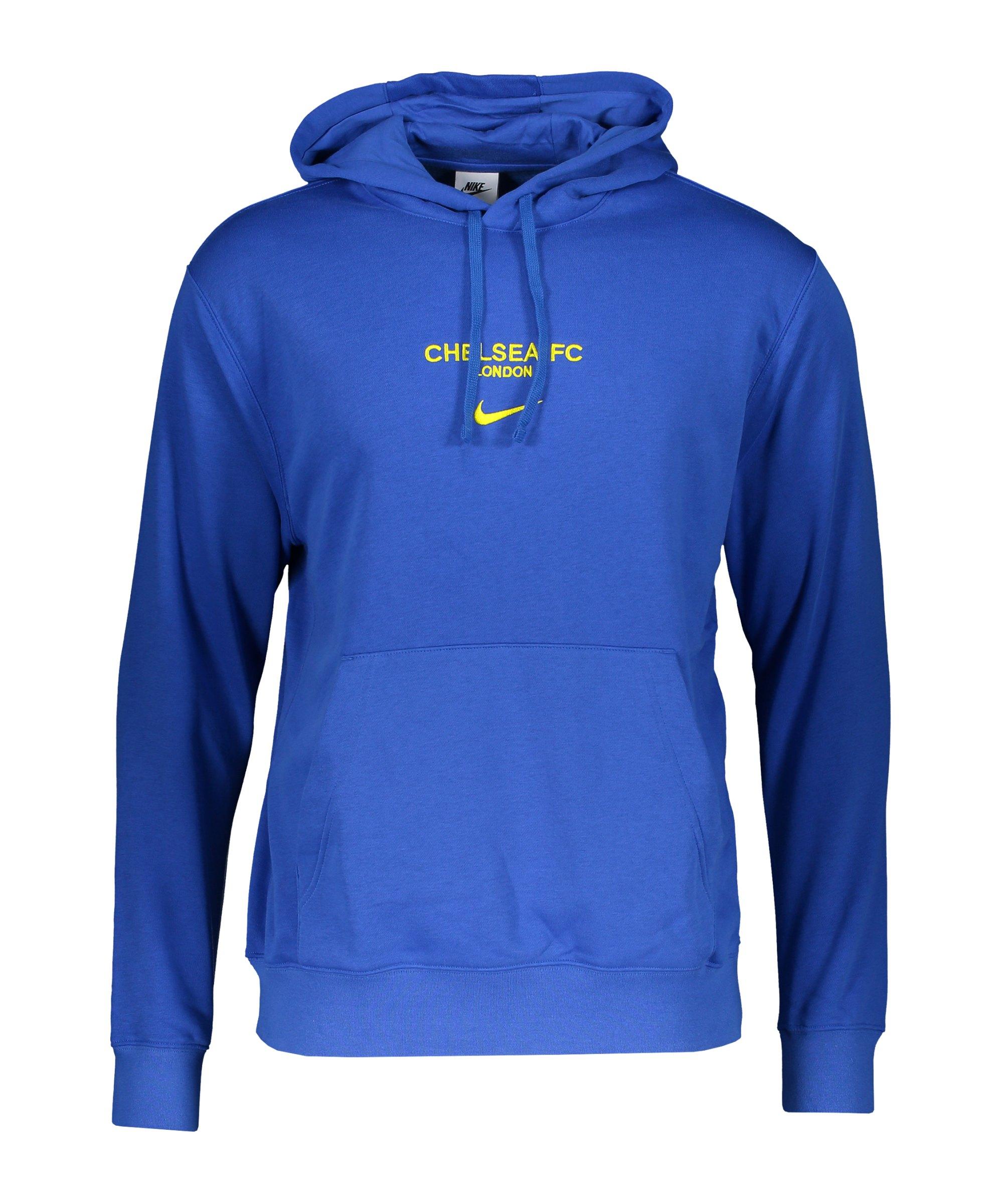 Nike FC Chelsea London Hoody Blau F408 - blau
