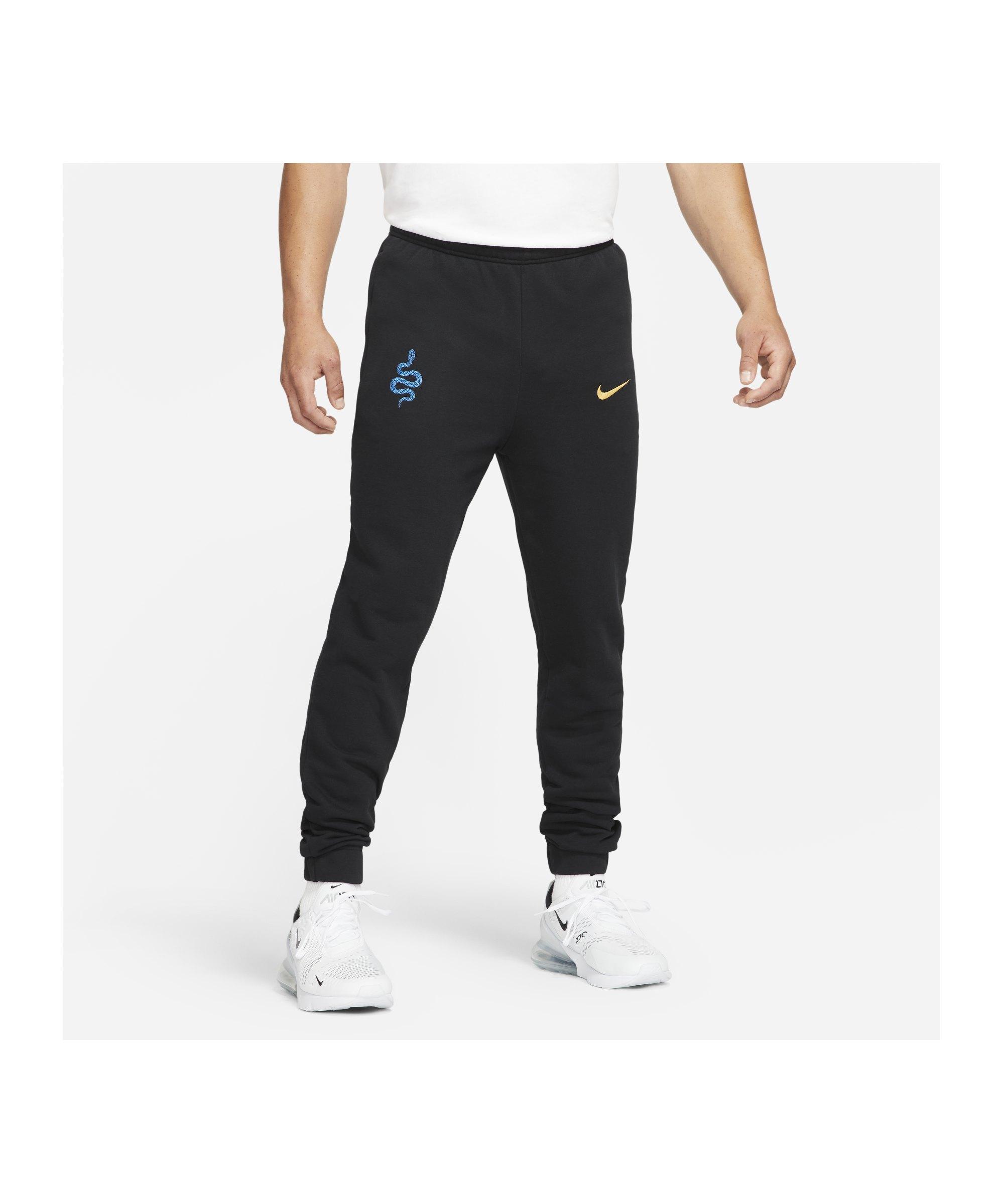 Nike Inter Mailand Jogginghose Schwarz F010 - schwarz