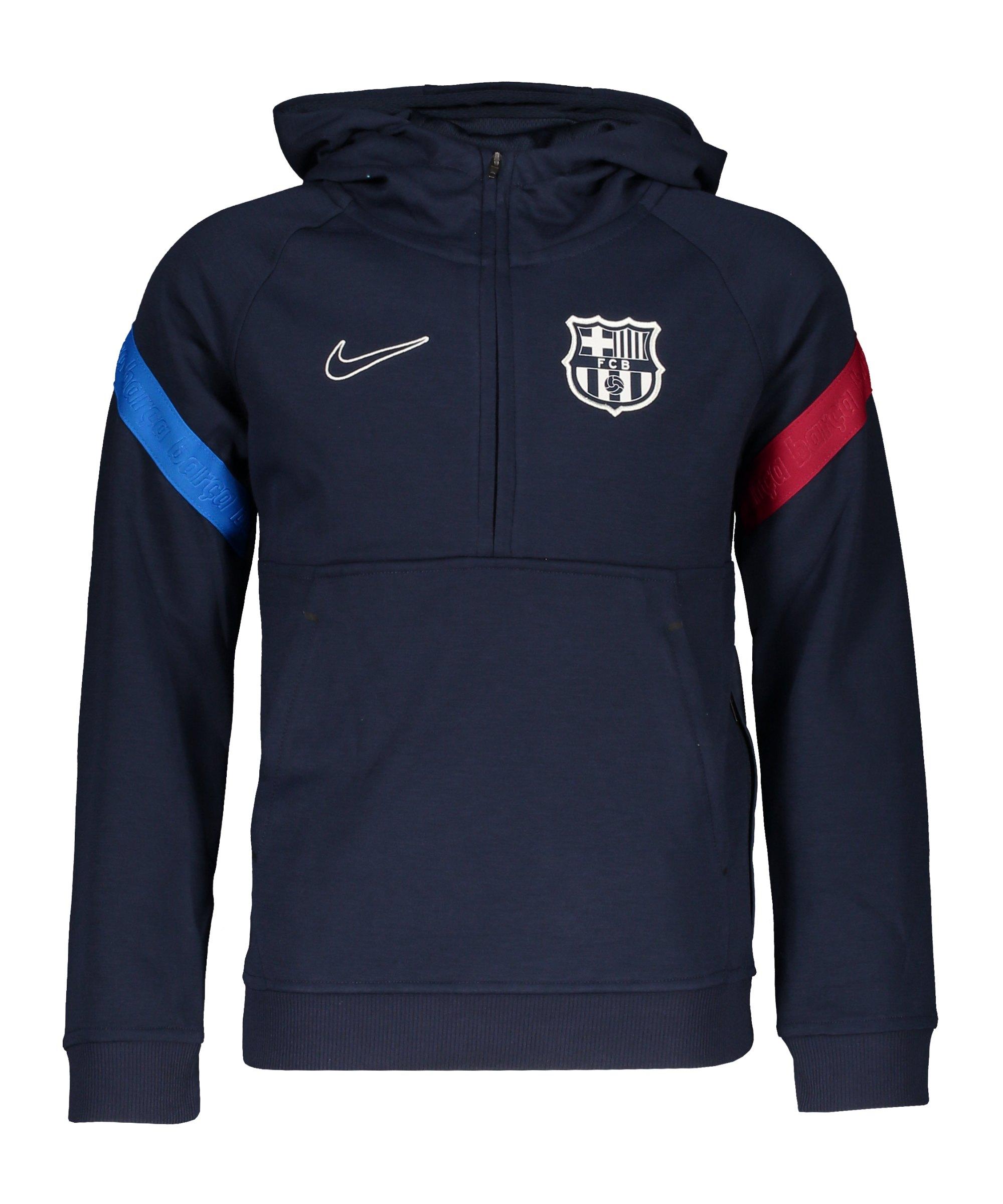 Nike FC Barcelona Hoody Kids Blau F451 - blau