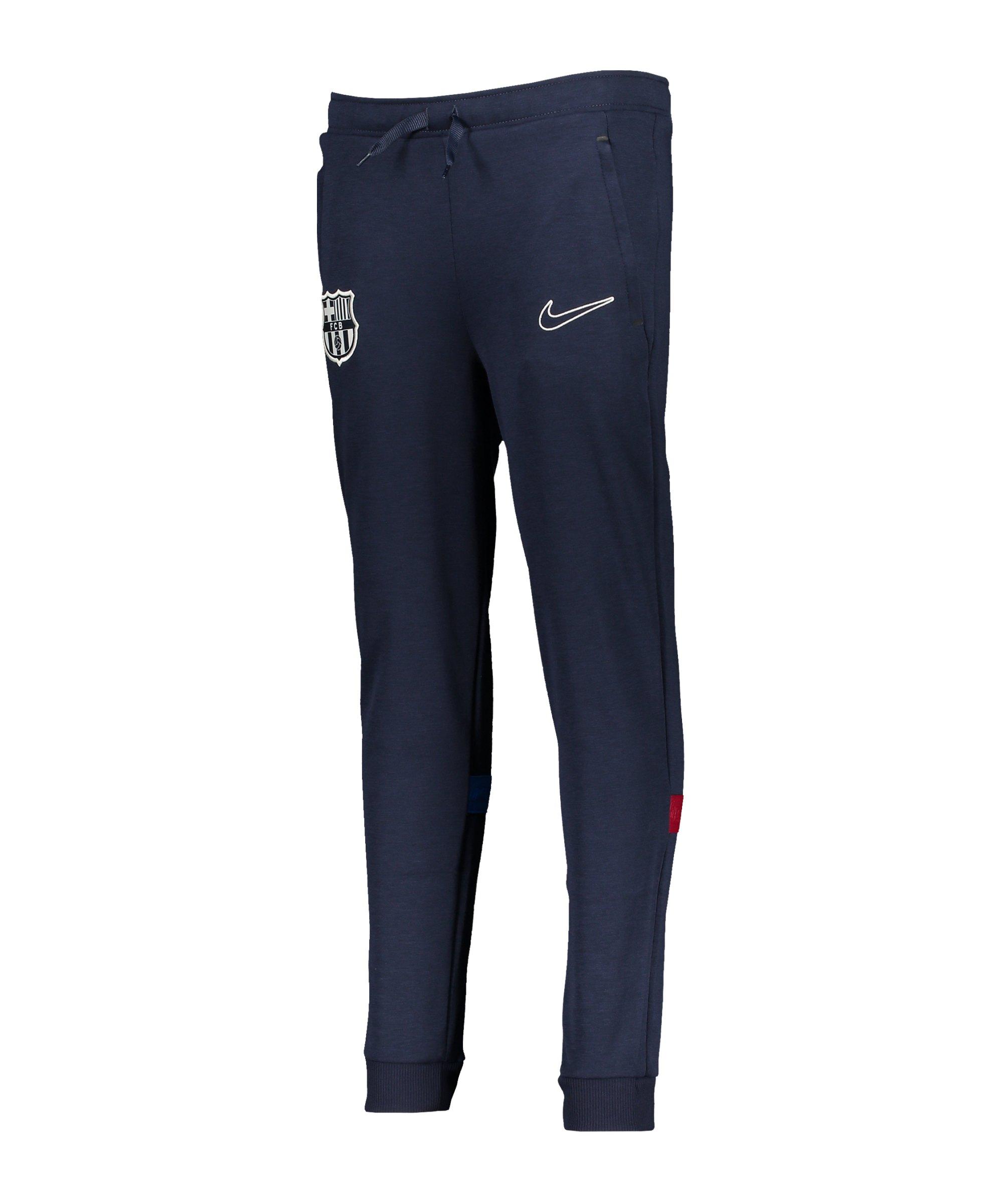 Nike FC Barcelona Travel Jogginghose Kids F451 - blau