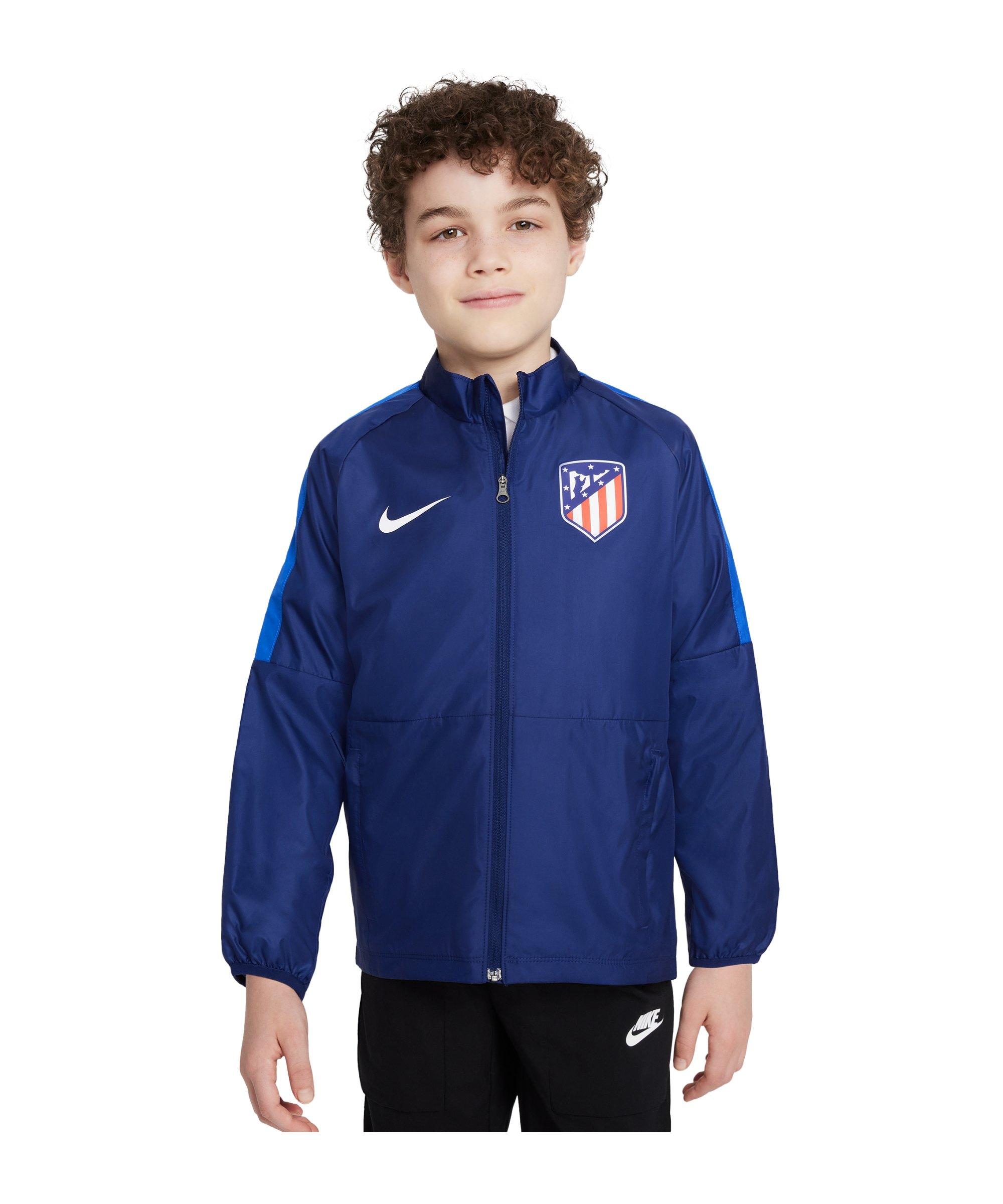 Nike Atletico Madrid Repel Academy Jacke Kids F421 - blau