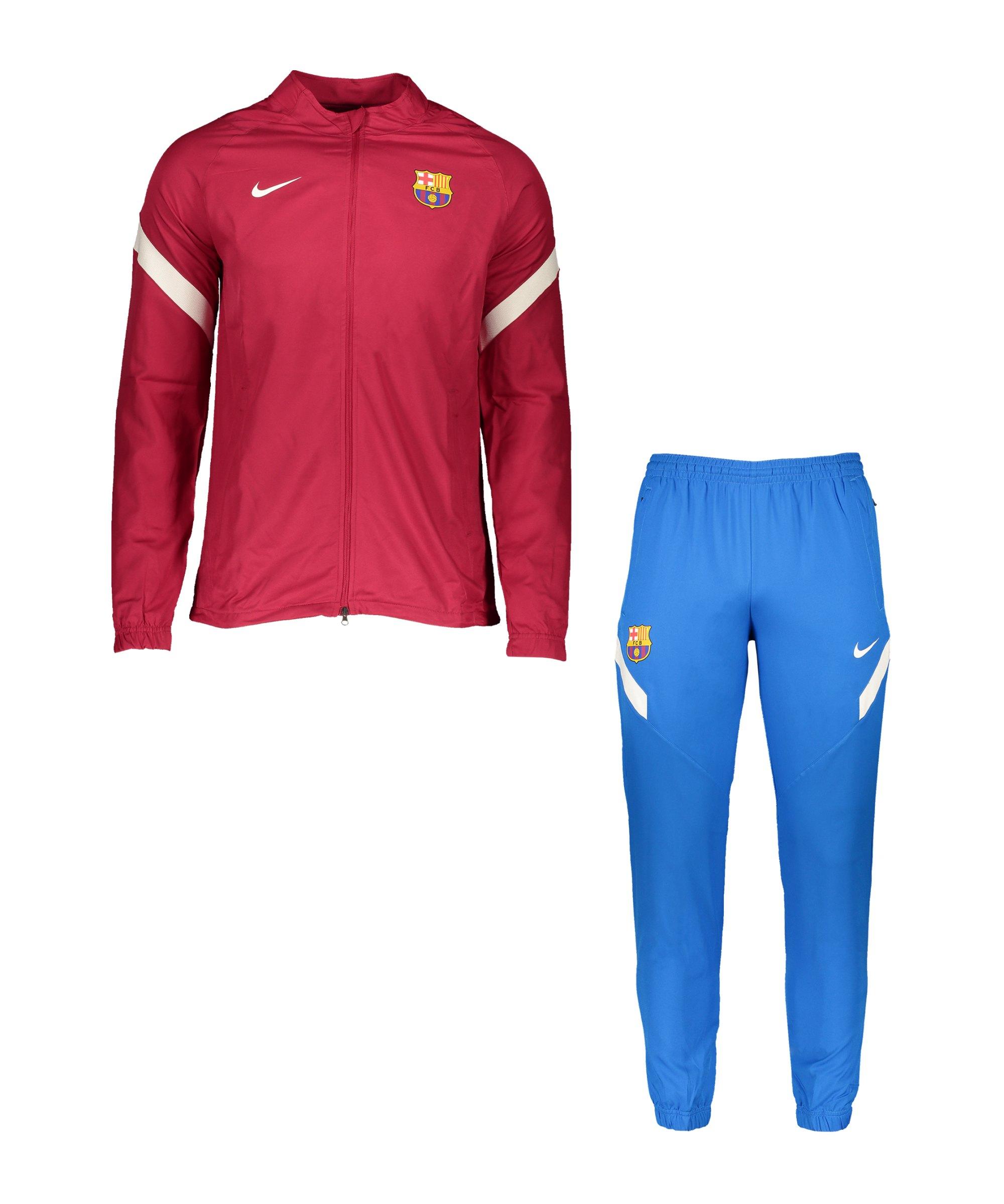 Nike FC Barcelona Trainingsanzug Rot F621 - rot