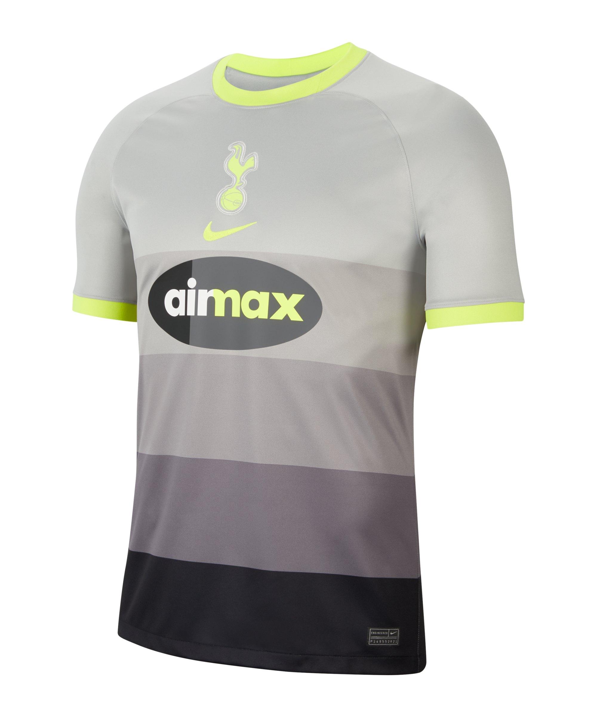 Nike Tottenham Hotspur Air Max Trikot 2020/2021 Grau F090 - grau
