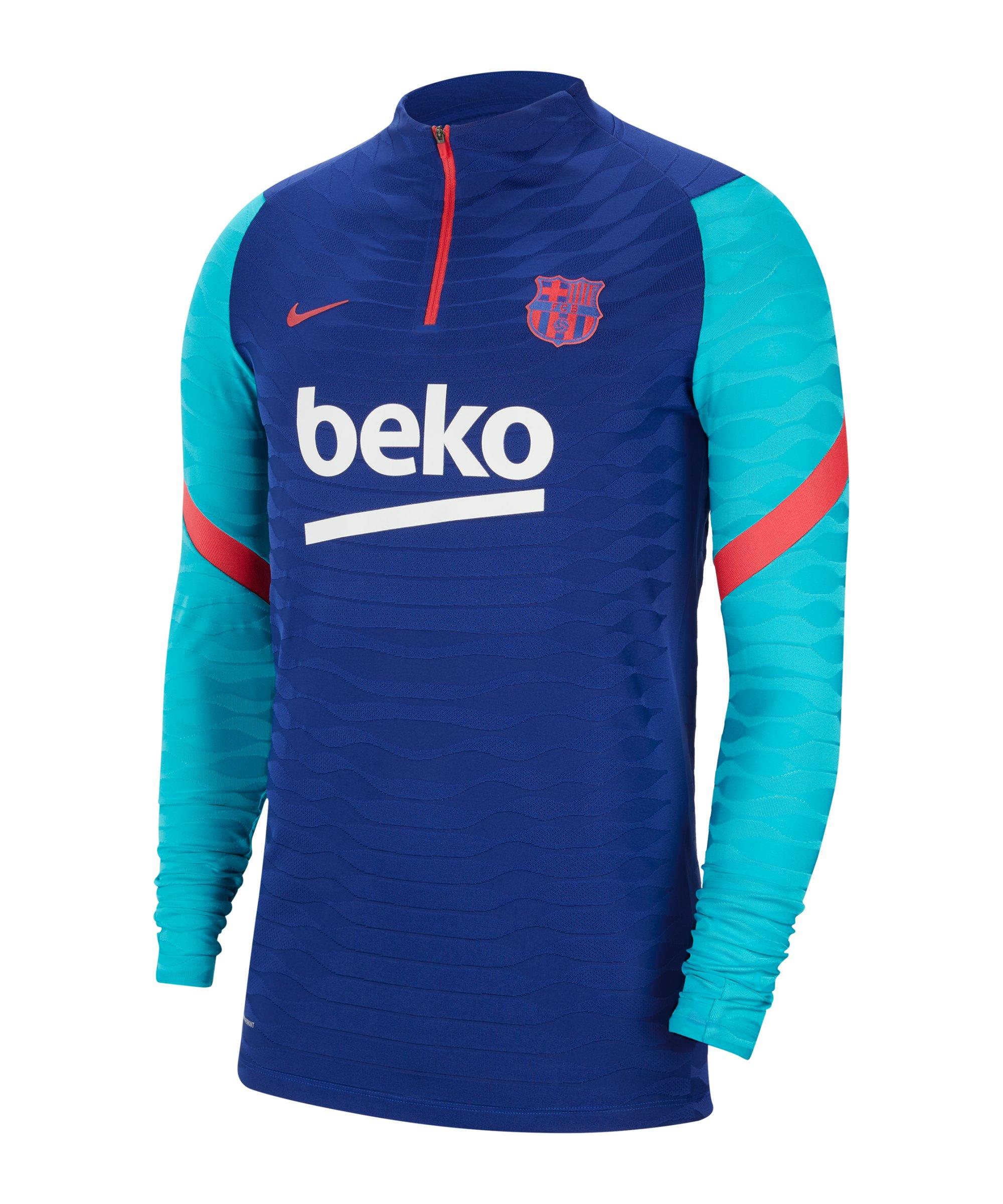 Nike FC Barcelona Vaporknit Drill Top Blau F456 - blau
