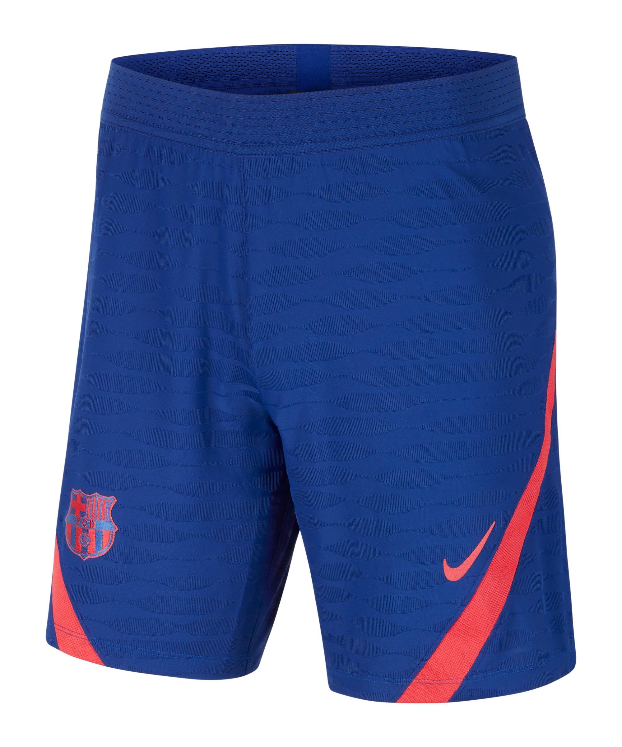 Nike FC Barcelona Vaporknit Strike Short Blau F455 - blau