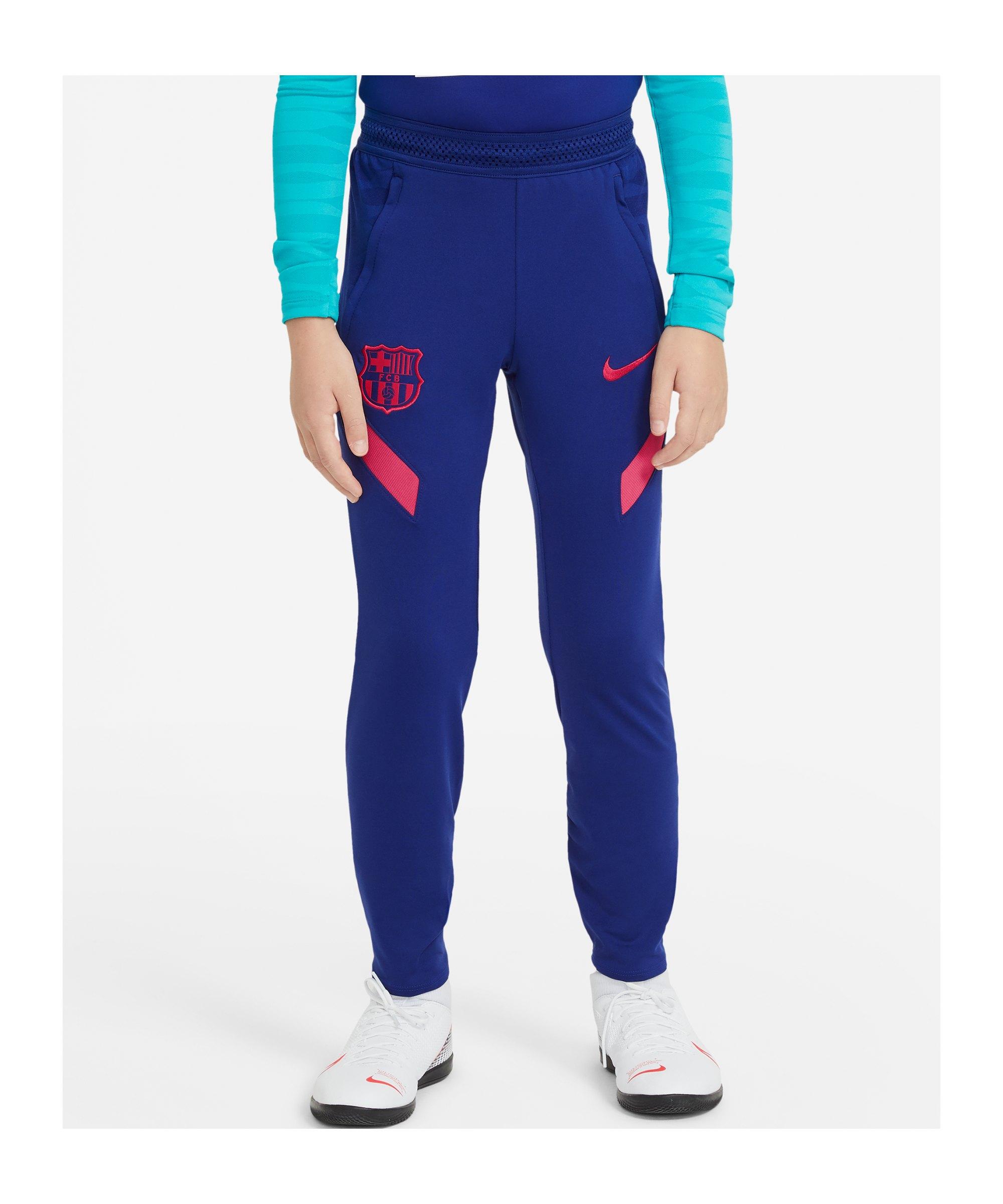 Nike FC Barcelona Trainingshose Kids Blau F455 - blau