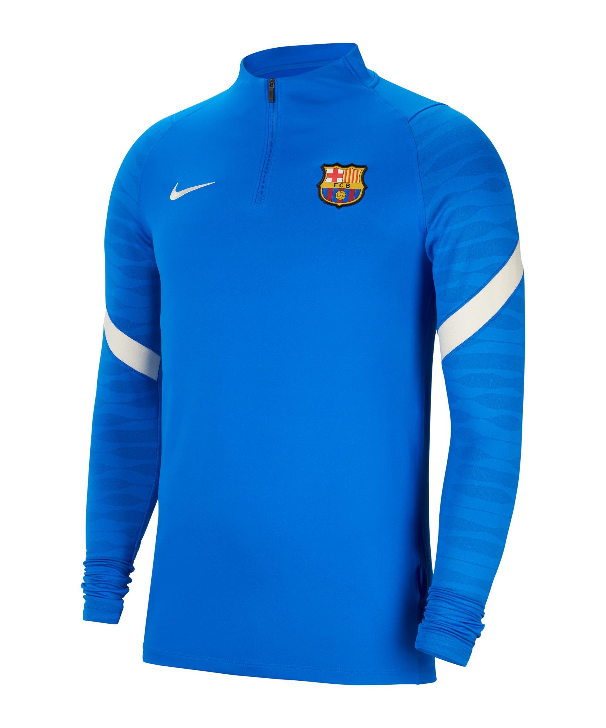 Nike FC Barcelona Drill Top Blau F430 - blau