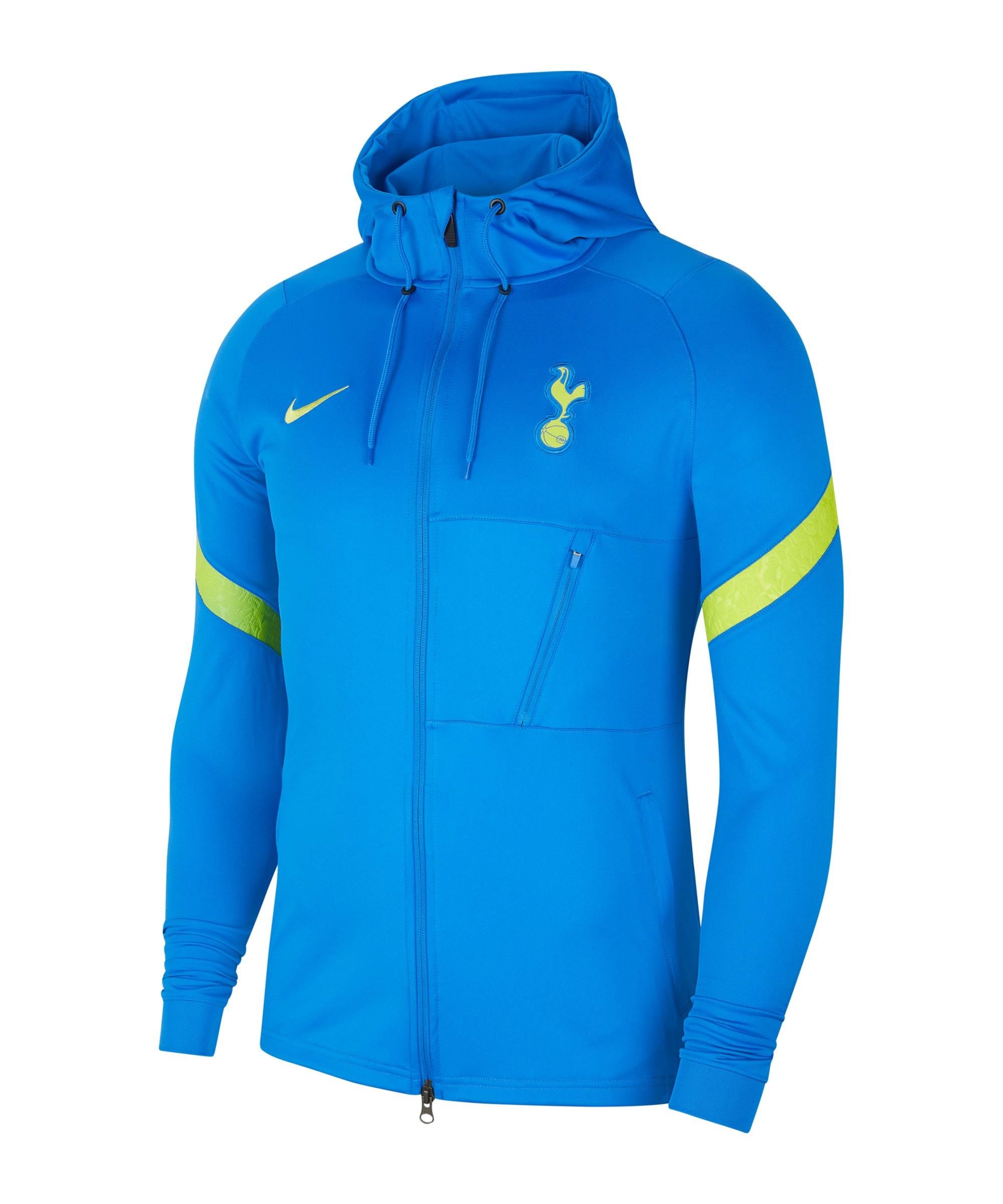 Nike Tottenham Hotspur Strike Trainingsjacke F403 - blau