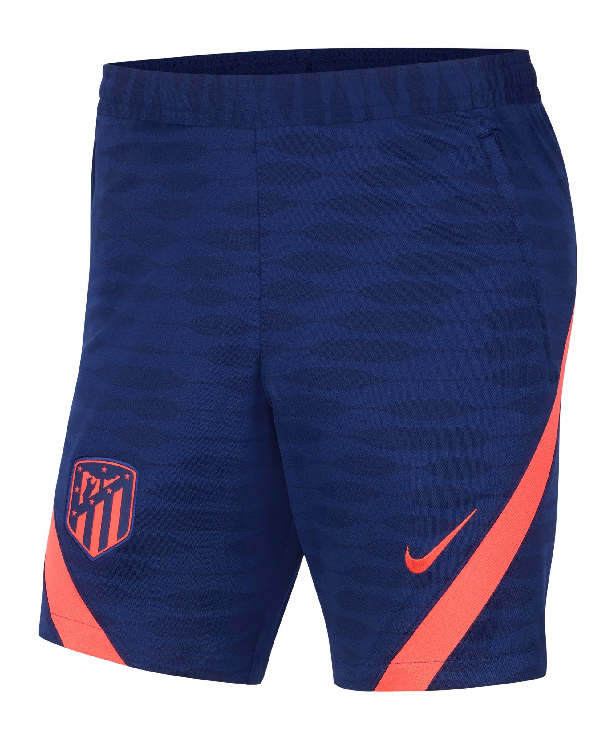 Nike Atletico Madrid Strike Short Blau F421 - blau