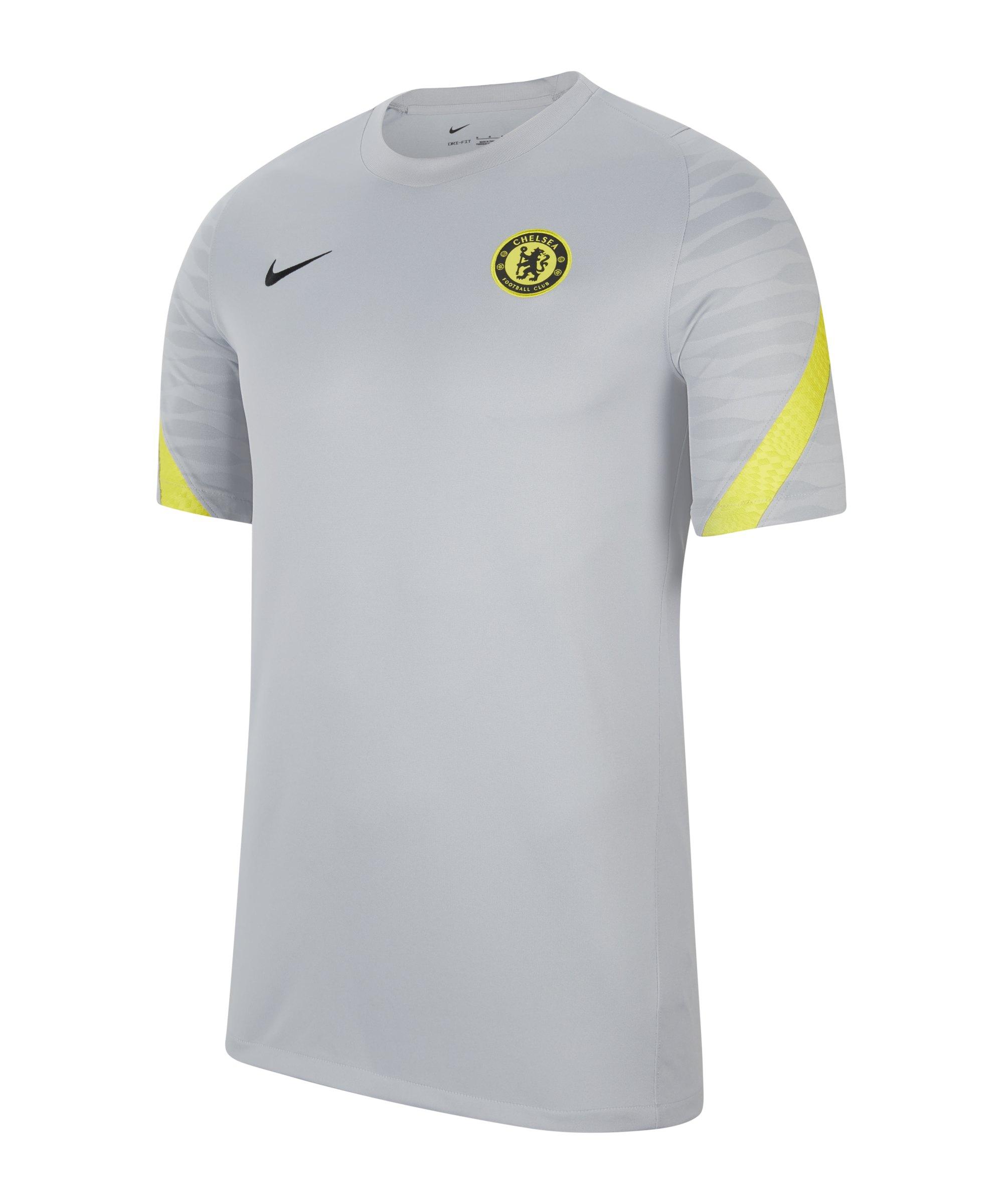 Nike FC Chelsea London Trainingsshirt Grau F015 - grau