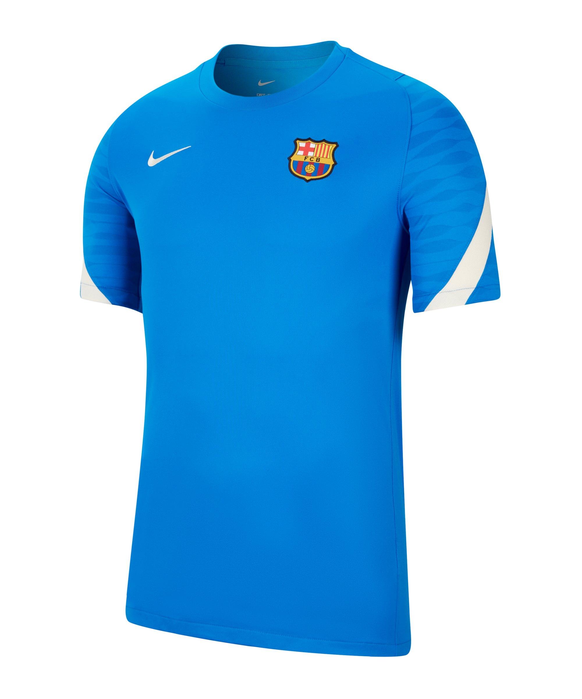 Nike FC Barcelona Strike T-Shirt Blau F430 - blau