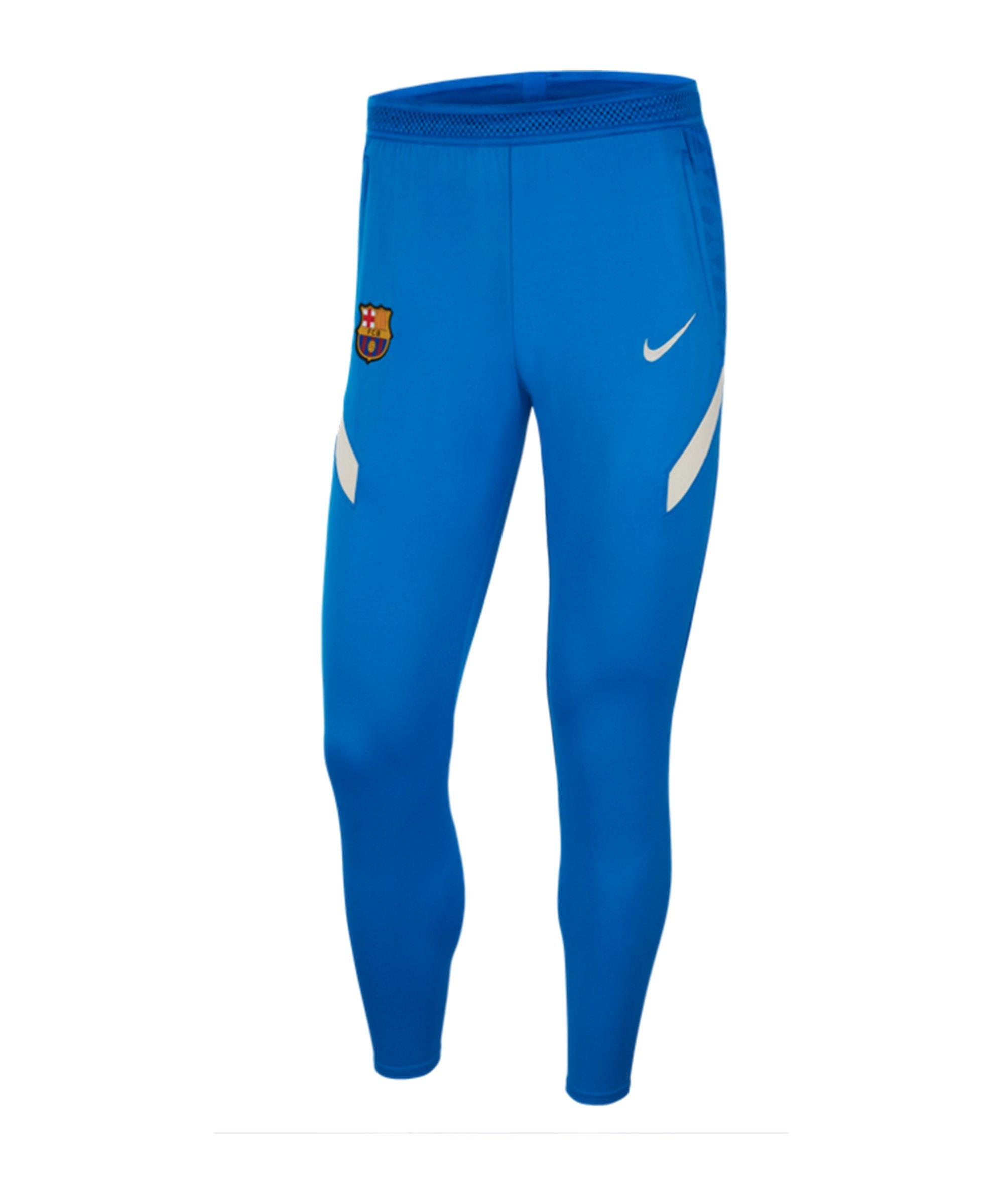 Nike FC Barcelona Strike Trainingshose F427 - blau