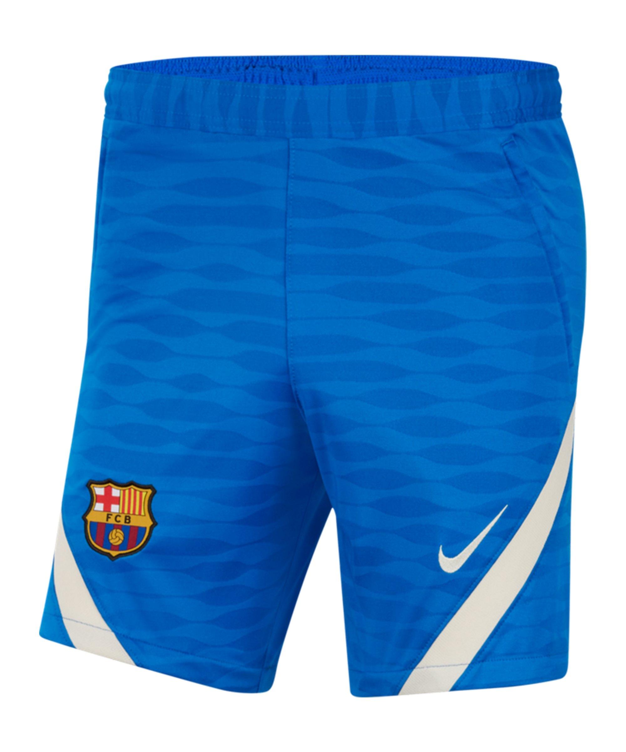 Nike FC Barcelona Strike Short F427 - blau