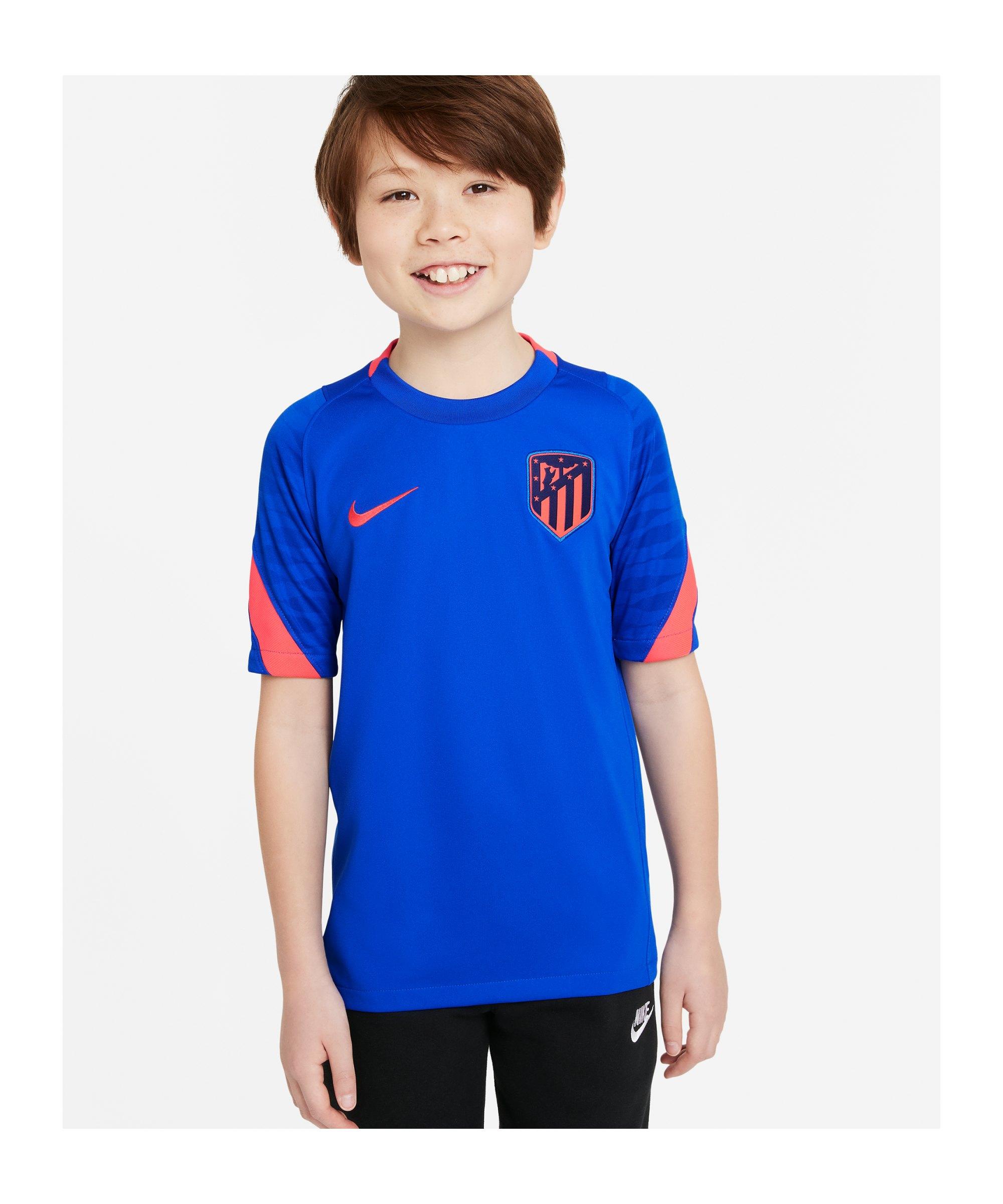 Nike Atletico Madrid Strike T-Shirt Kids F440 - blau