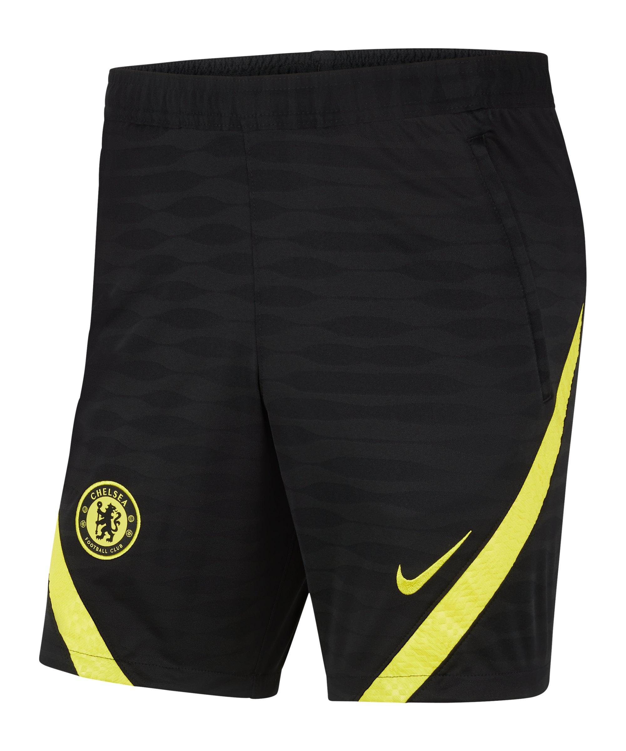 Nike FC Chelsea Trainingsshort Kids Schwarz F010 - schwarz