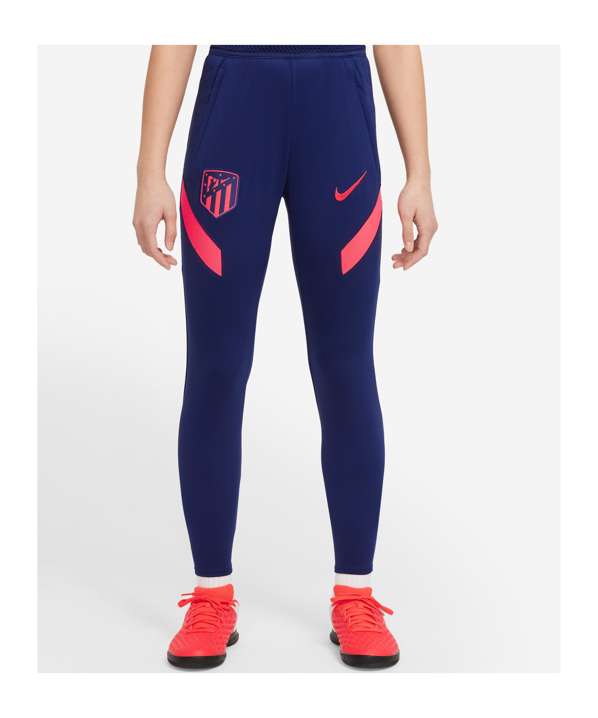 Nike Atletico Madrid Trainingshose Kids F421 - blau