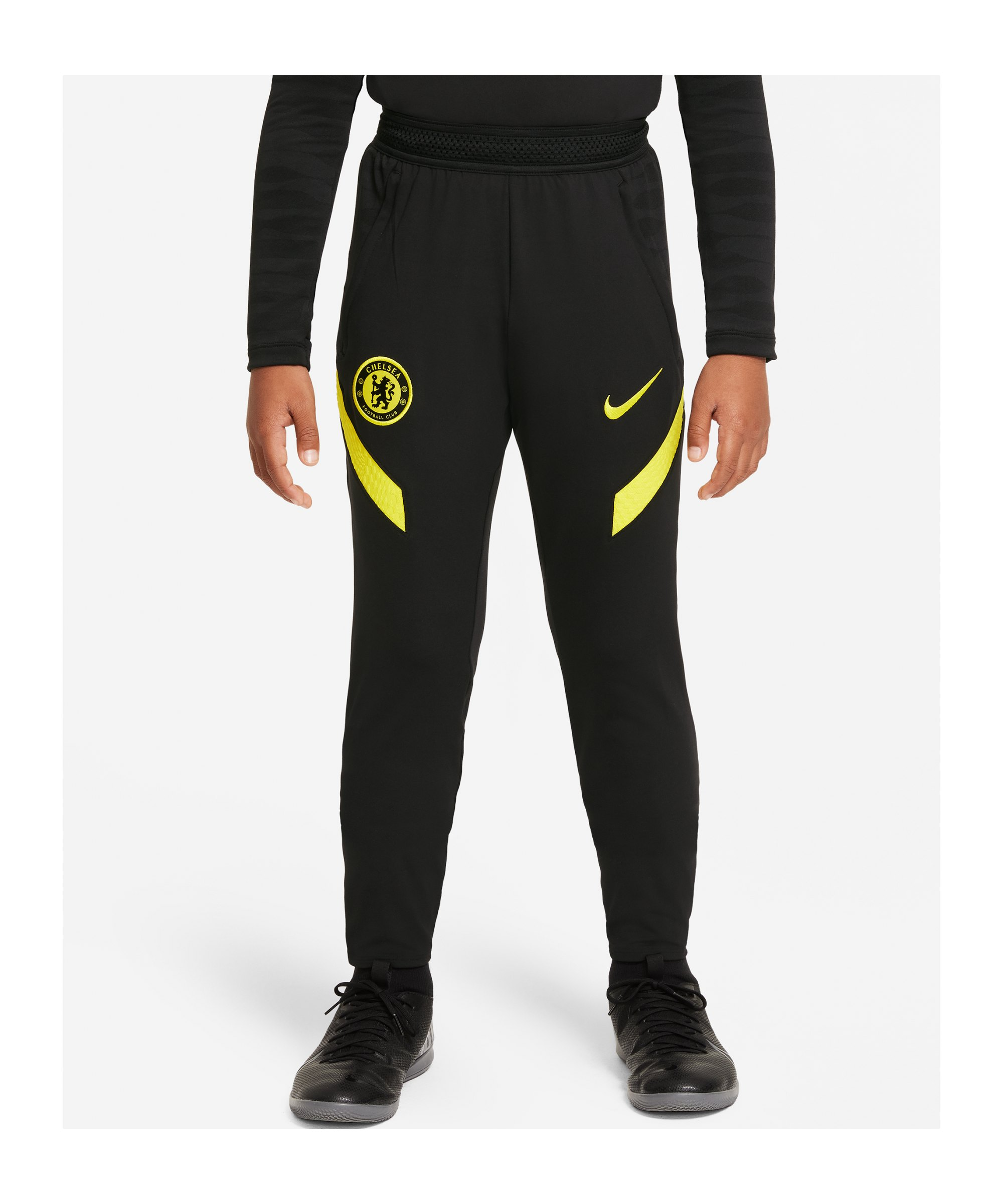 Nike FC Chelsea London Trainingshose Kids Schwarz F010 - schwarz
